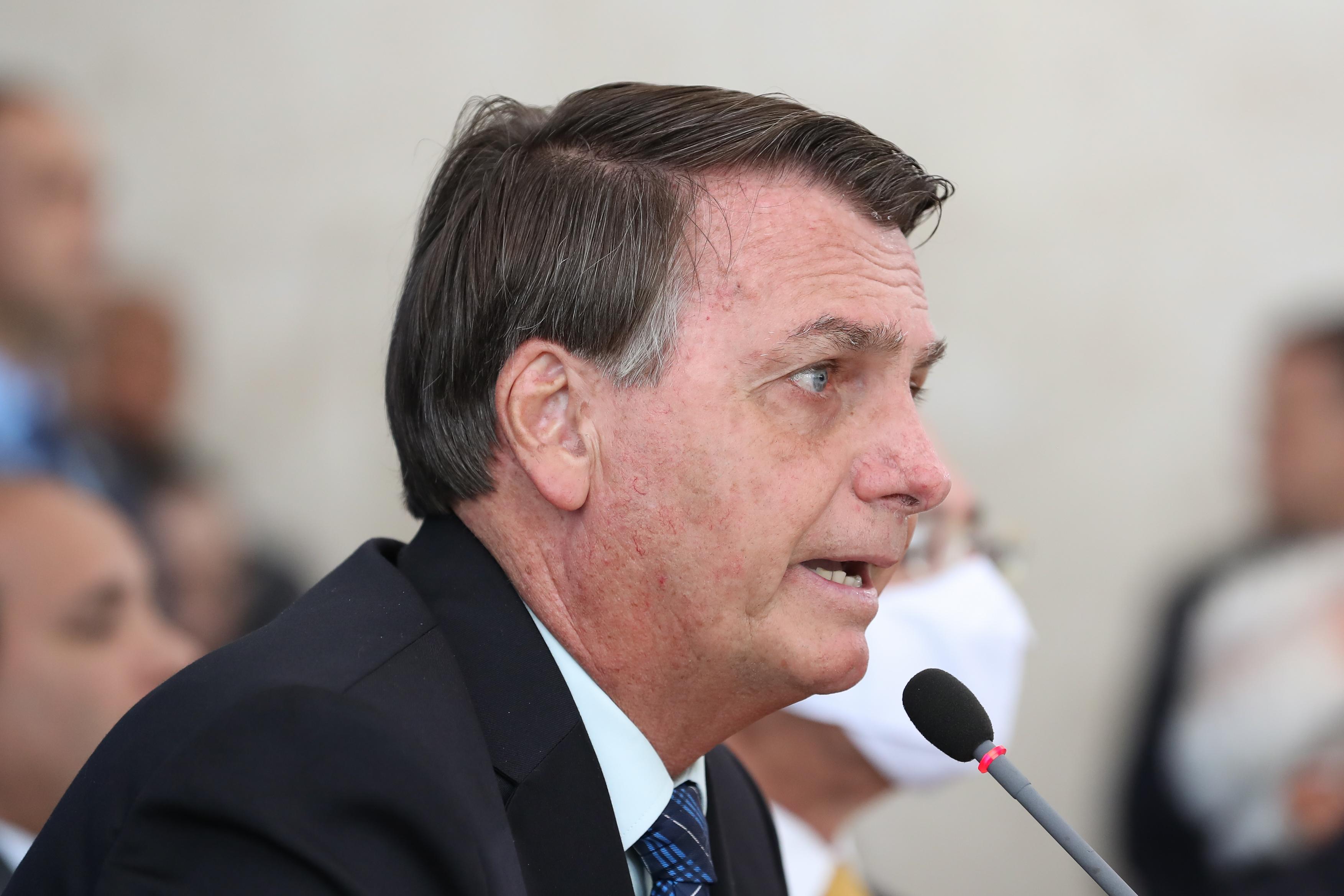 """IMAGEM: O """"traço marcante"""" de Bolsonaro"""
