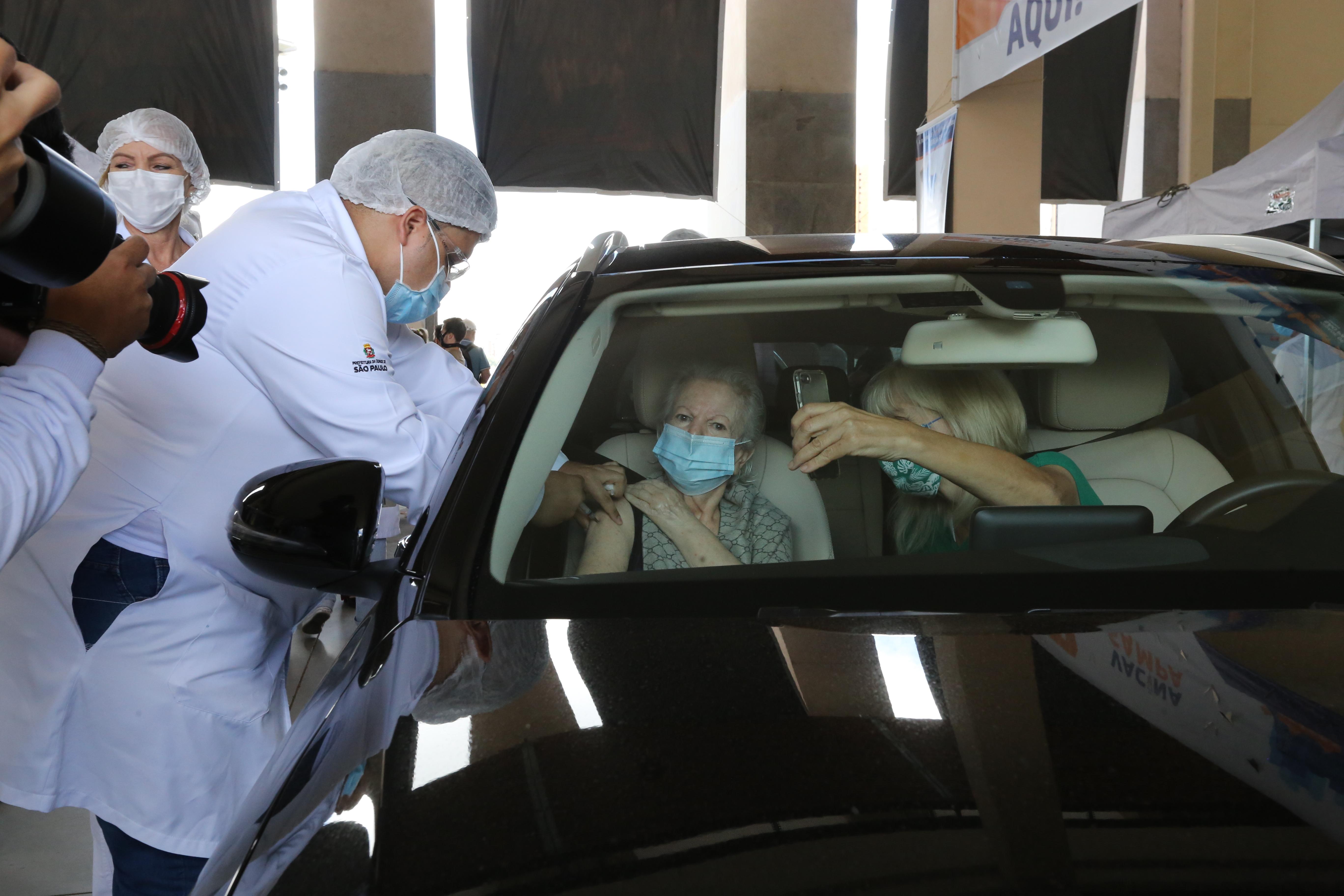 IMAGEM: Cidade de São Paulo pede ajuda ao Exército para distribuir vacinas