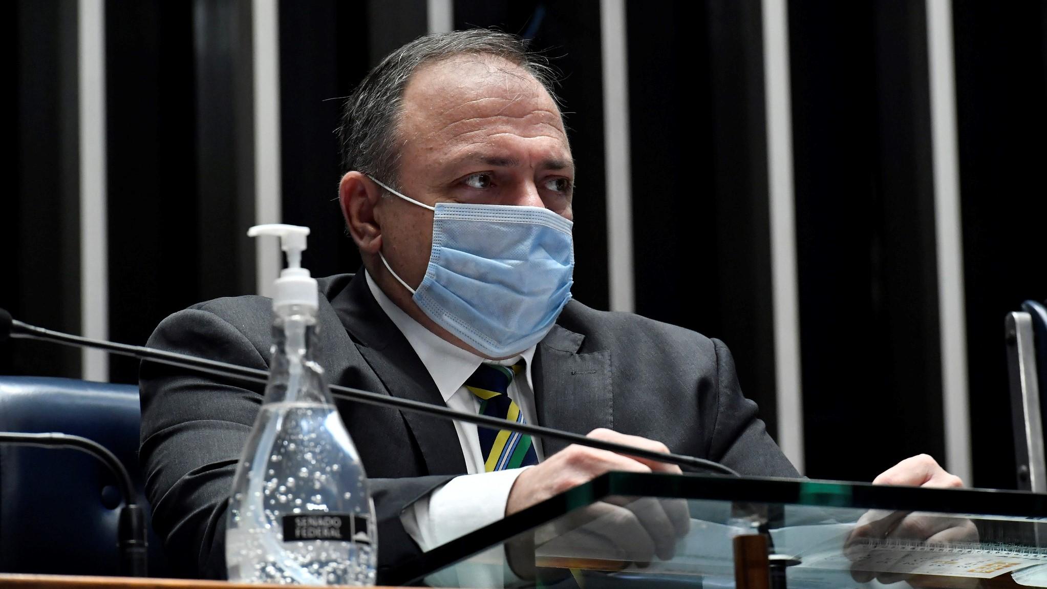 IMAGEM: Pazuello agiu com irresponsabilidade criminosa, diz presidente do Conselho Nacional de Saúde