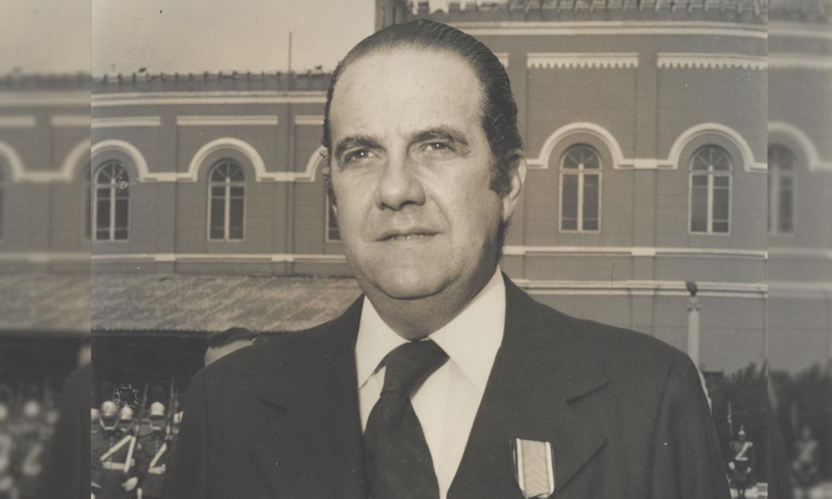 IMAGEM: Ex-governador de SP Paulo Egydio Martins morre aos 92