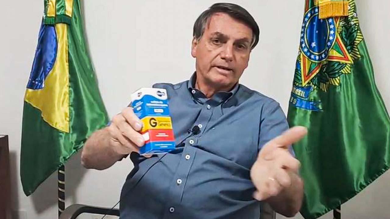 IMAGEM: Bolsonaro é o maior influenciador digital da cloroquina no mundo