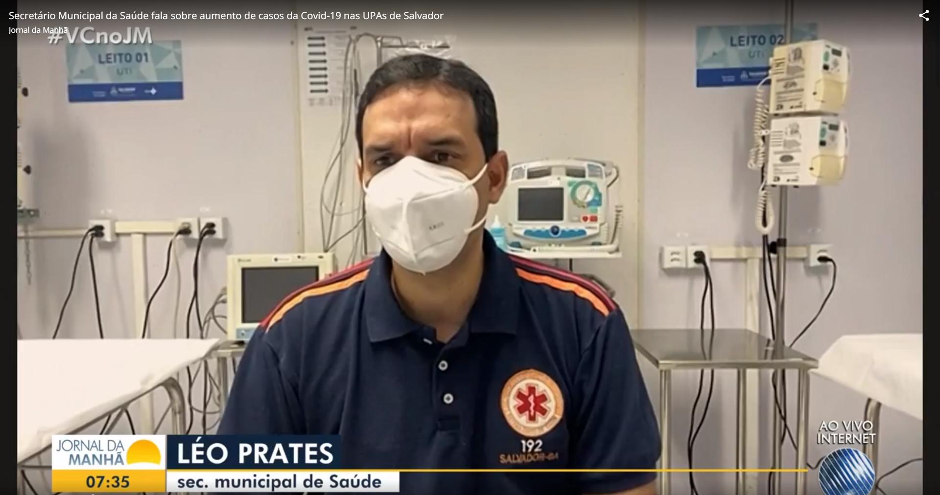 """IMAGEM: UPAs de Salvador em """"pré-colapso"""", diz secretário de Saúde"""