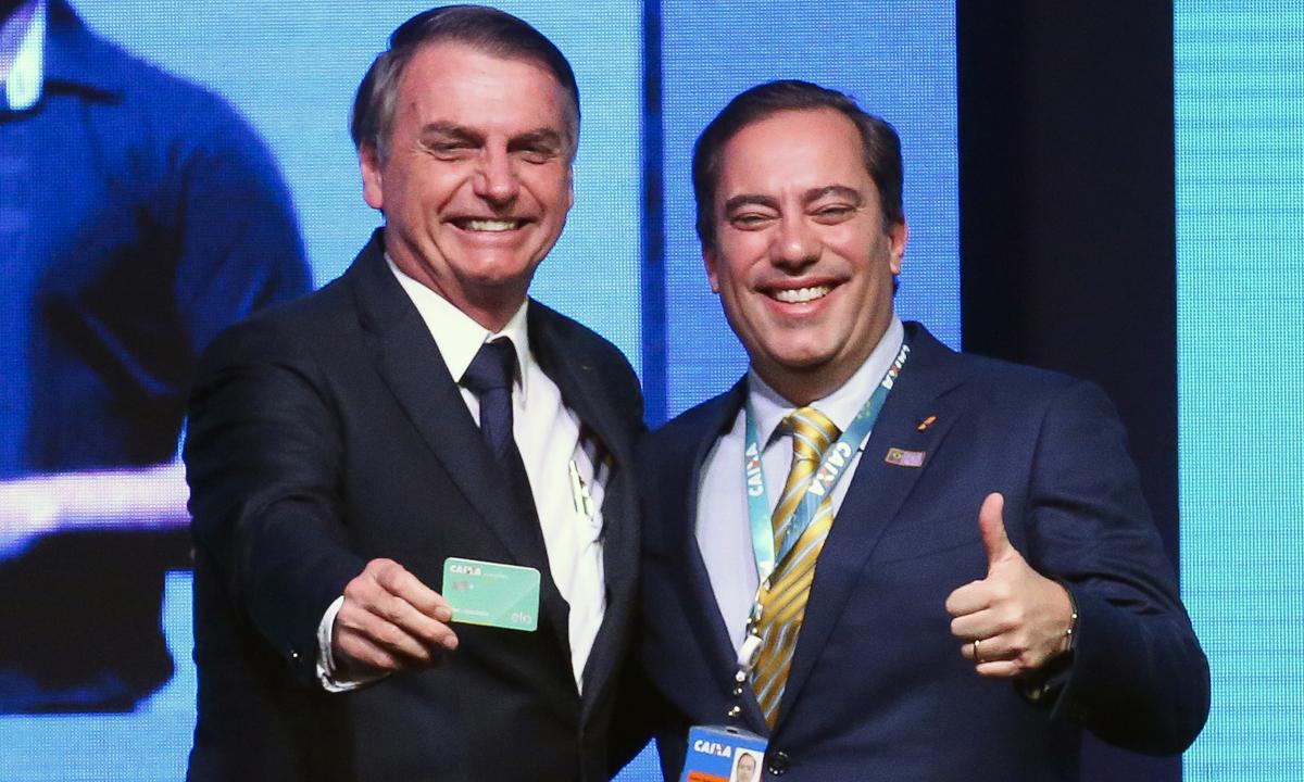 IMAGEM: Pedro Guimarães trava Rogério Marinho