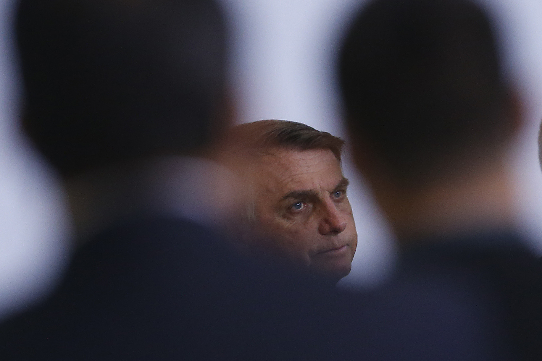 IMAGEM: Bolsonaro diz que 'gravidade' da pandemia ajudou negociação com a Pfizer