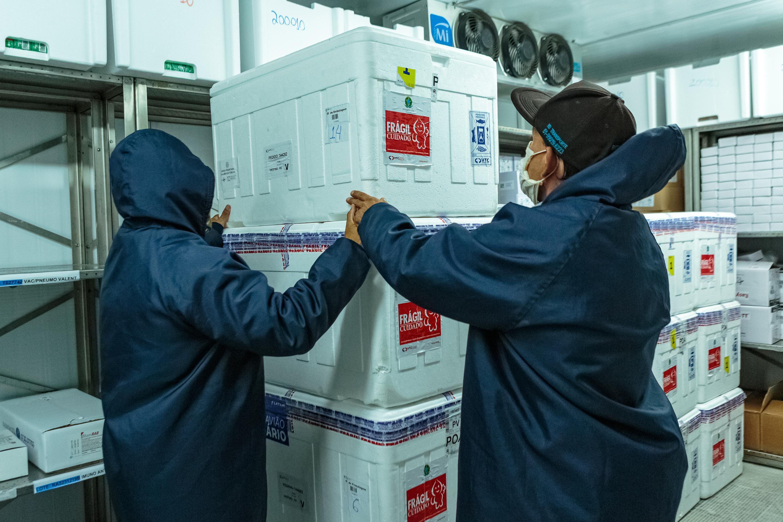 IMAGEM: Saúde entrega 6,3 milhões de doses de vacina contra a Covid amanhã