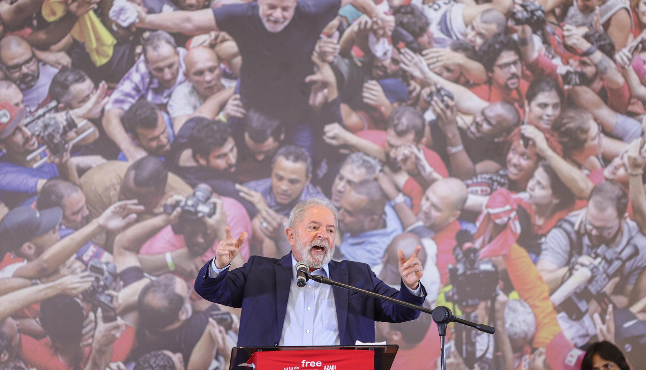 """IMAGEM: Lula e, de novo, o discurso de """"unidade nacional"""""""