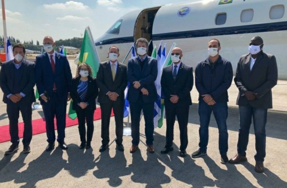 """IMAGEM: Itamaraty diz que comitiva """"cumprirá fielmente os protocolos"""" em Israel"""