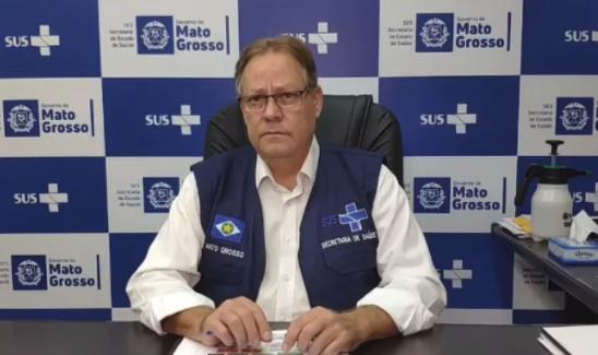 """IMAGEM: """"Já colapsamos. Socorro"""", diz secretário de Saúde de Mato Grosso"""