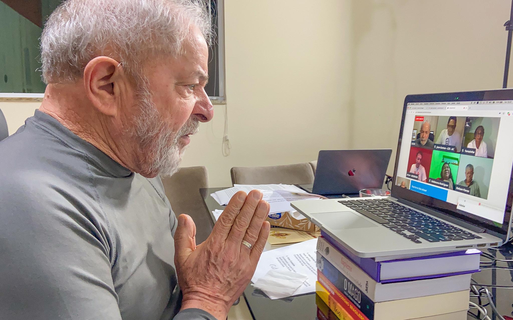 IMAGEM: Lula diz que vai revogar teto de gastos