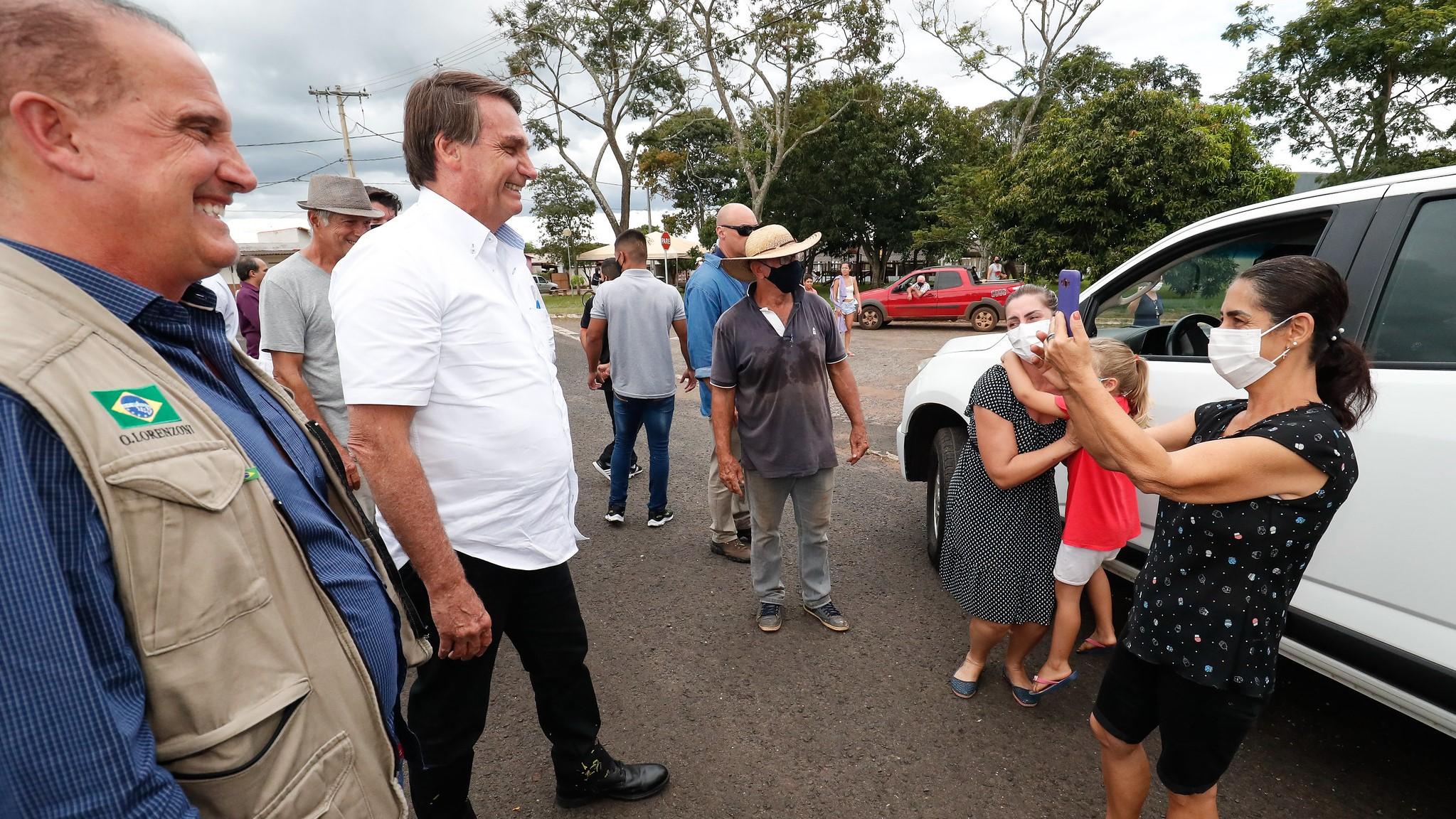 IMAGEM: Juiz manda soltar homem preso por incitar seguidores a agredir Bolsonaro