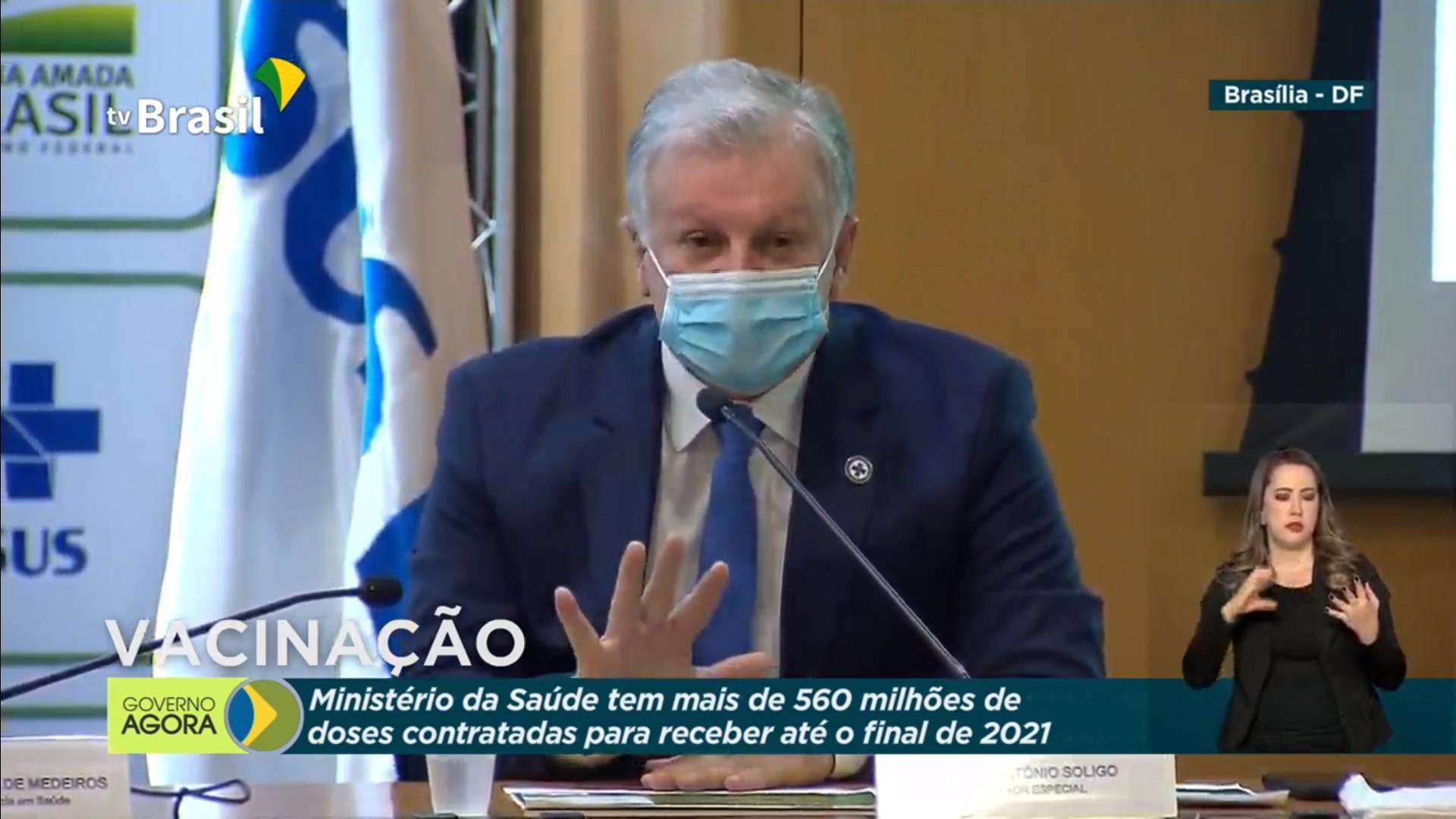 IMAGEM: Braço direito de Pazuello é internado com Covid