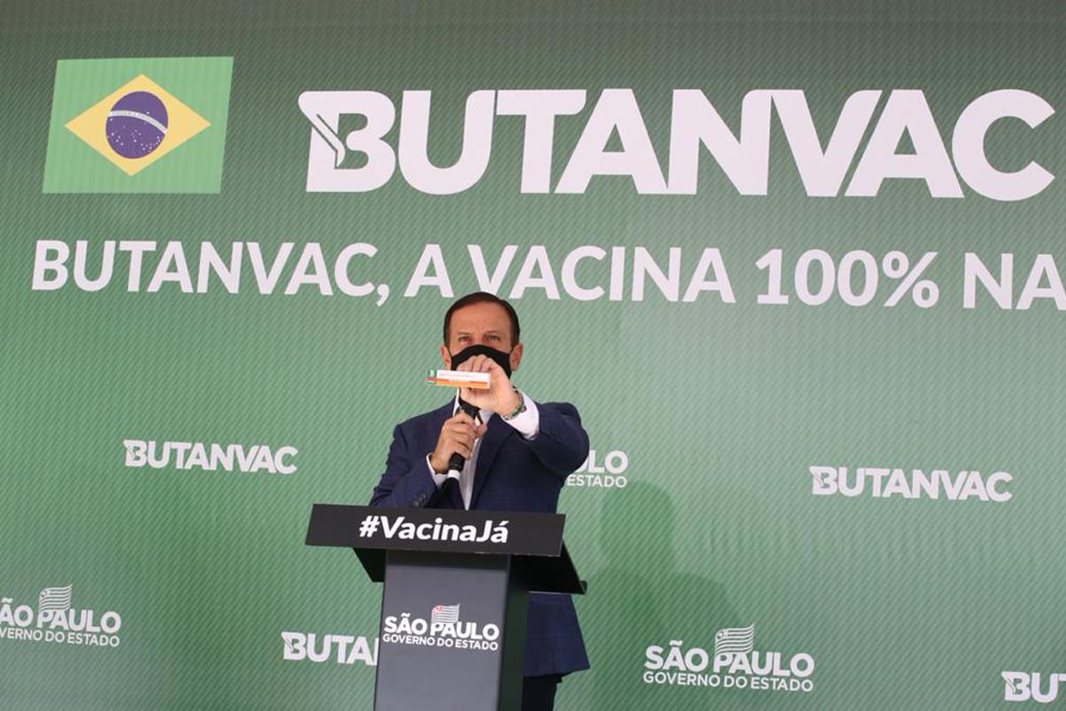 IMAGEM: Anvisa pede mais dados ao Butantan para autorizar teste clínico com a Butanvac
