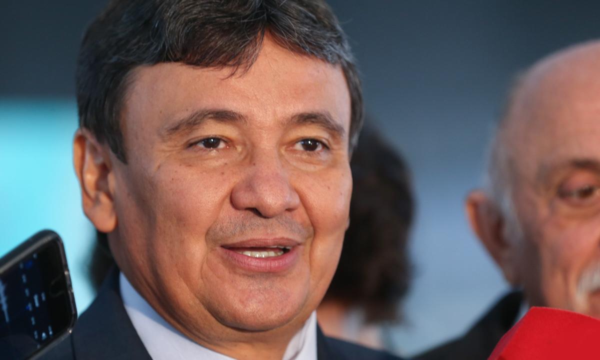 IMAGEM: Wellington Dias rebate Marcos Rogério