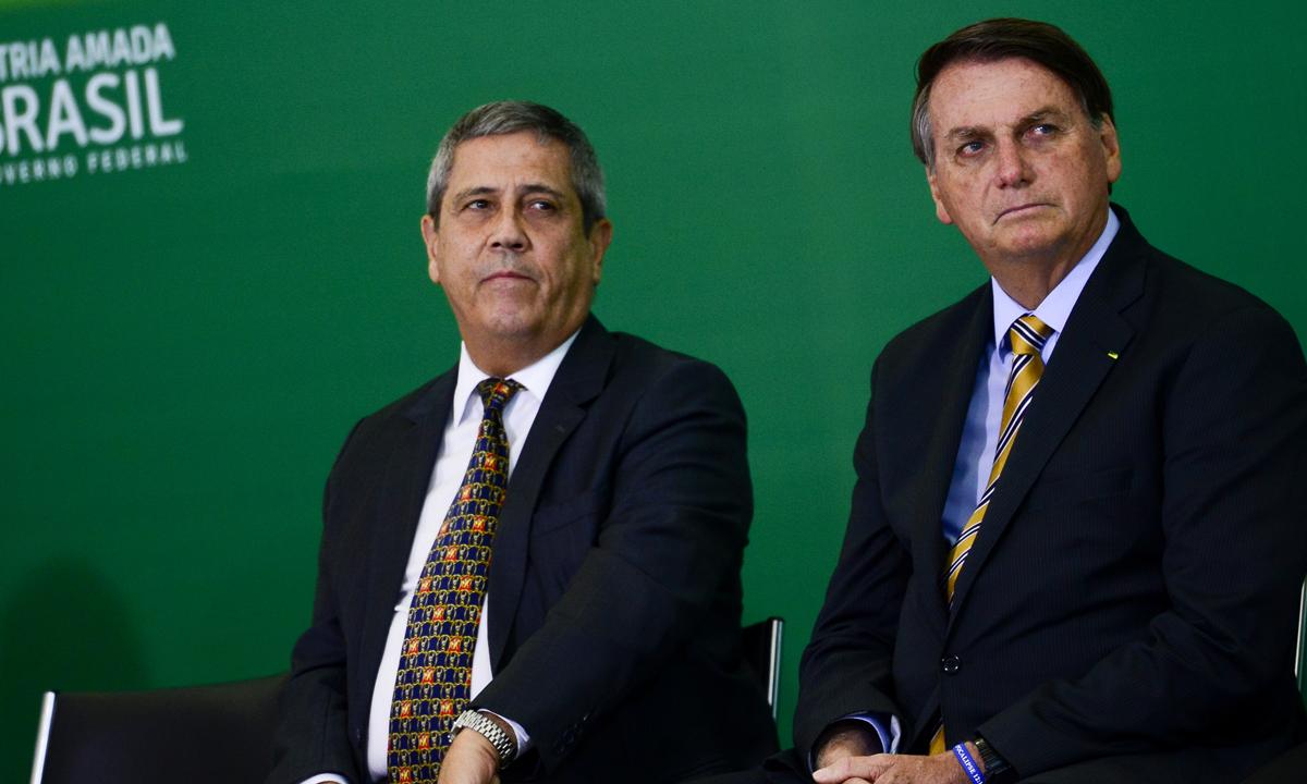 IMAGEM: Braga Netto vai anunciar novos comandantes