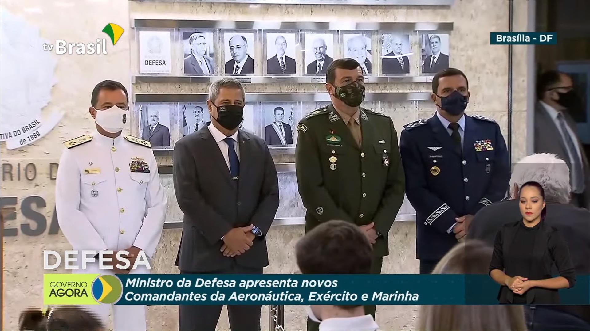 IMAGEM: Conheça a trajetória dos novos comandantes do Exército, Marinha e Aeronáutica