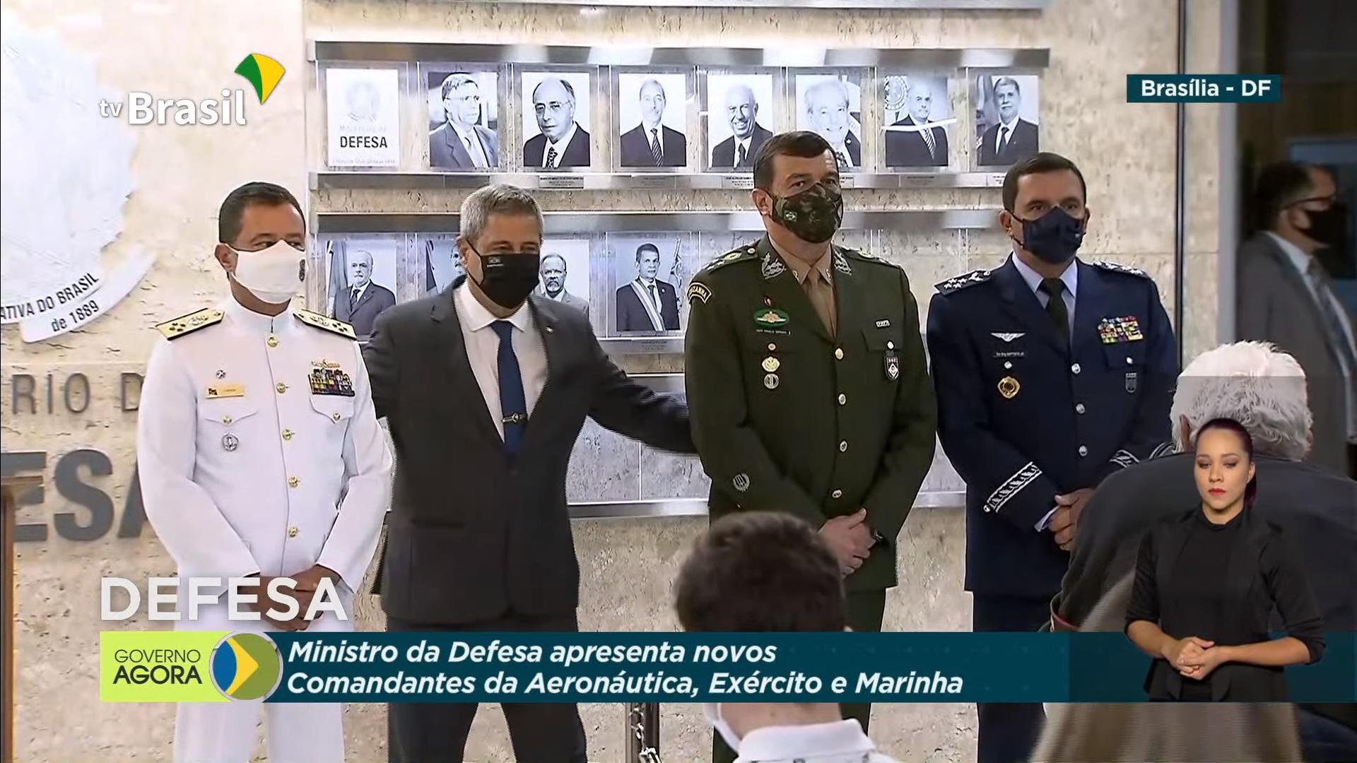 IMAGEM: Braga Netto reúne Alto Comando