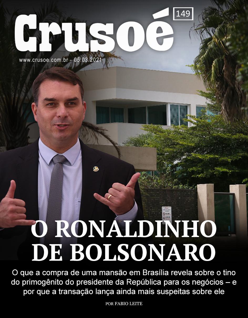 """IMAGEM: """"O Ronaldinho de Bolsonaro"""""""