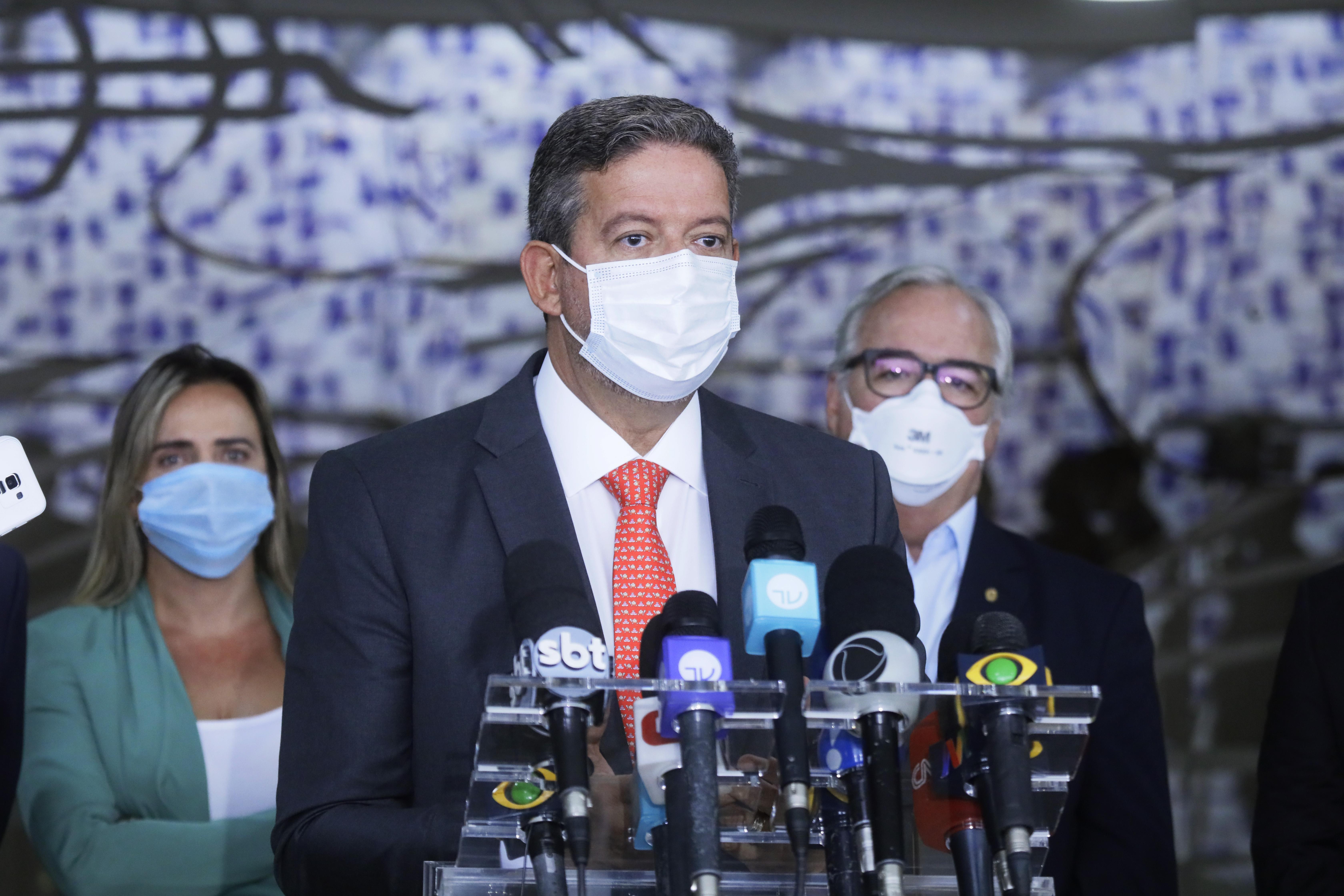 IMAGEM: Presidente da Câmara defende criação de fundo emergencial contra a Covid-19