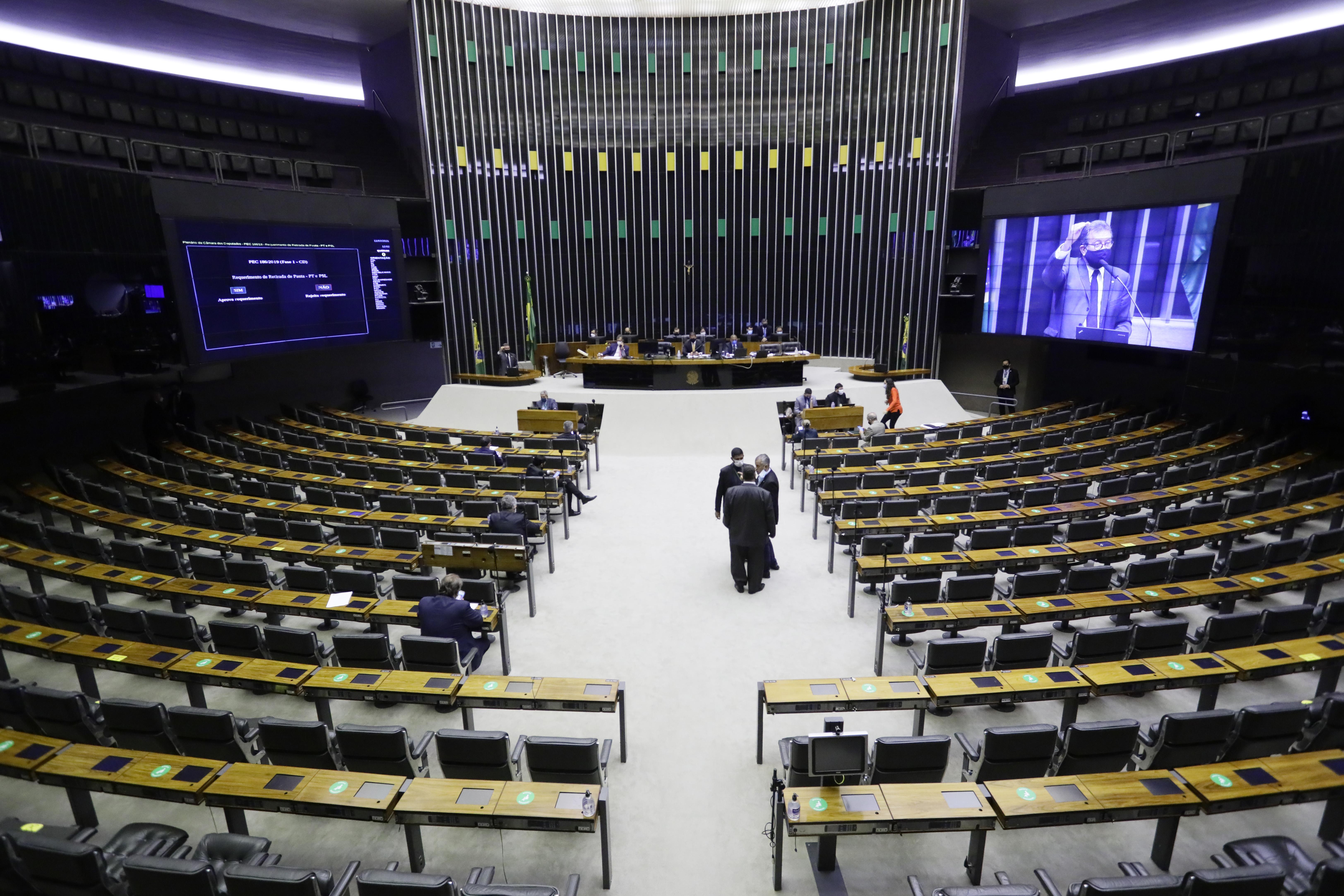IMAGEM: 11 partidos tentam suspender votação de projeto que revoga Lei de Segurança Nacional