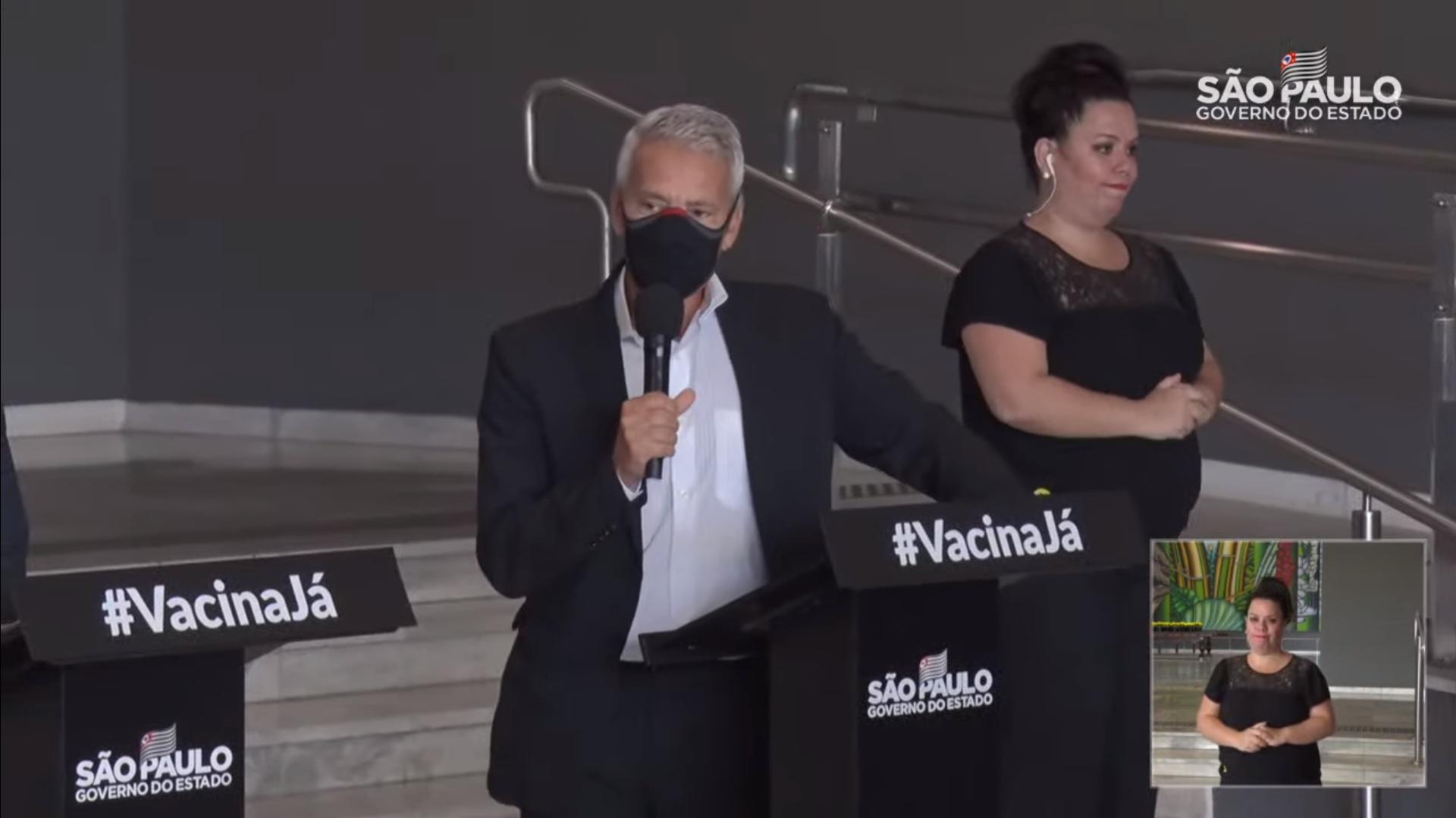 IMAGEM: Gabbardo: restrições precisam de mais tempo para frear pandemia