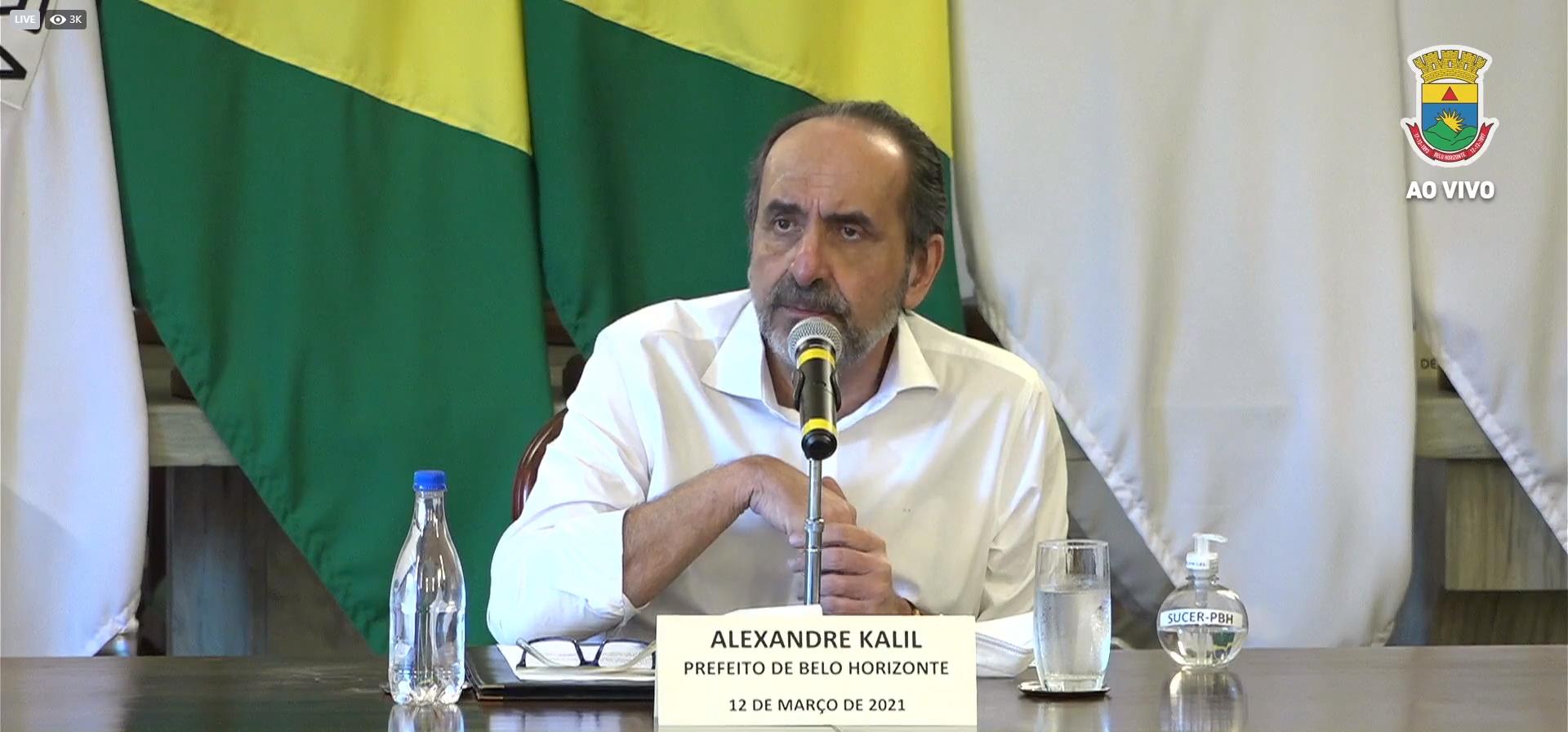 IMAGEM: Kalil anuncia que prefeitura de BH vai comprar 4 milhões de doses da Sputnik V