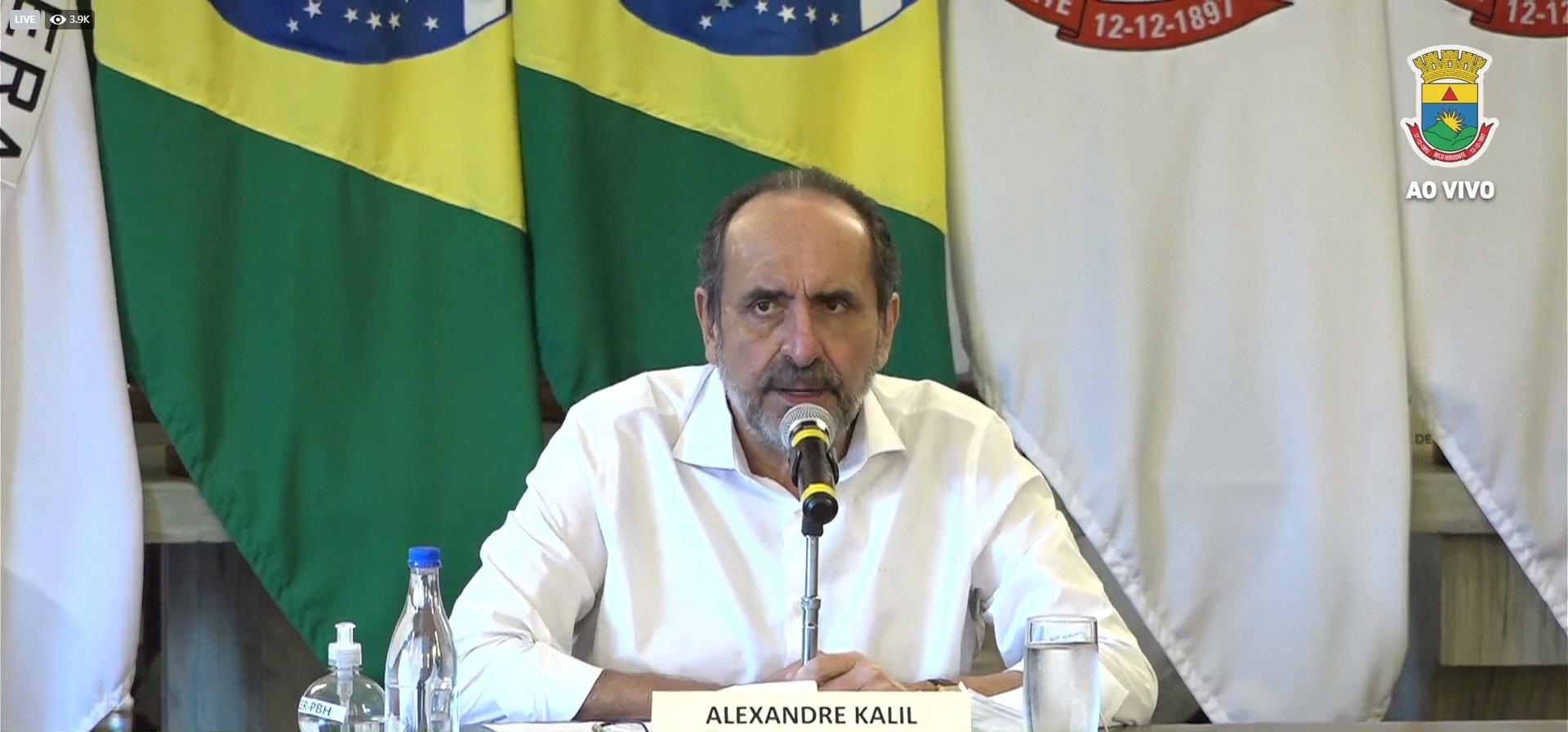 IMAGEM: Kalil anuncia novas restrições em BH; restaurantes só poderão fazer delivery