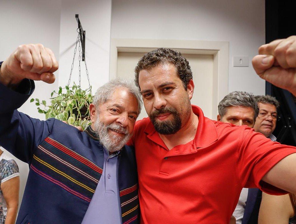 IMAGEM: Lula é 'muito cauteloso' com Boulos, que não quer ser sombra do PT em 2022