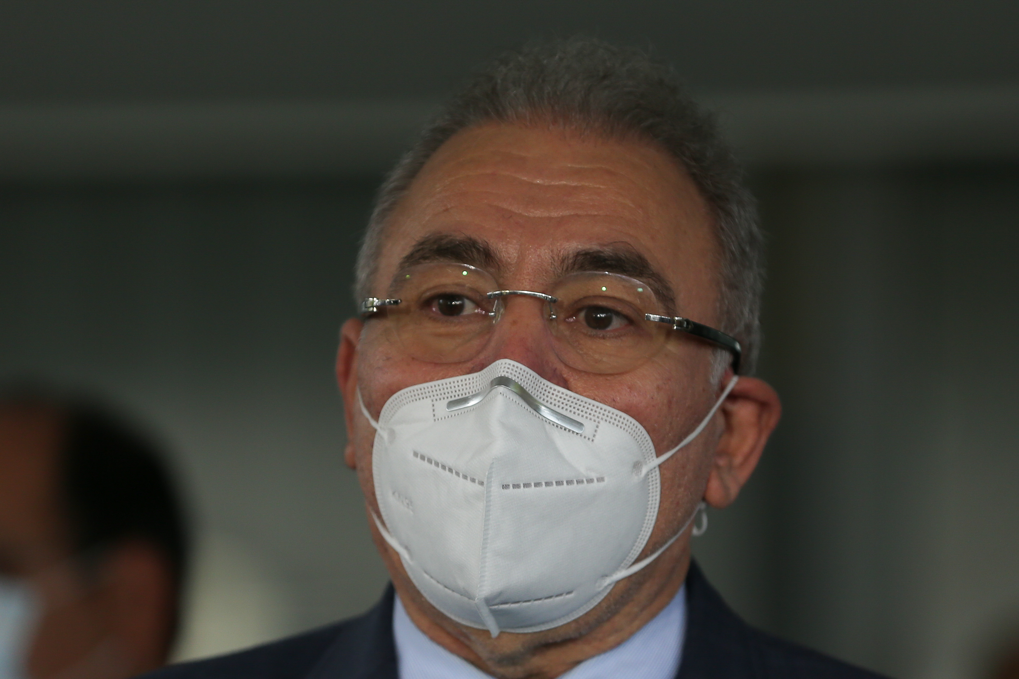 IMAGEM: Queiroga diz que fará campanha por 'uso racional' do oxigênio