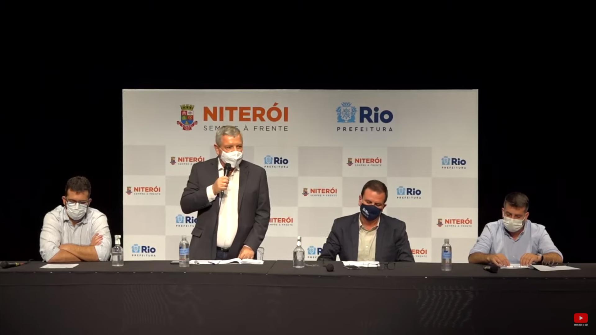 IMAGEM: Rio e Niterói anunciam toque de recolher das 23h às 5h