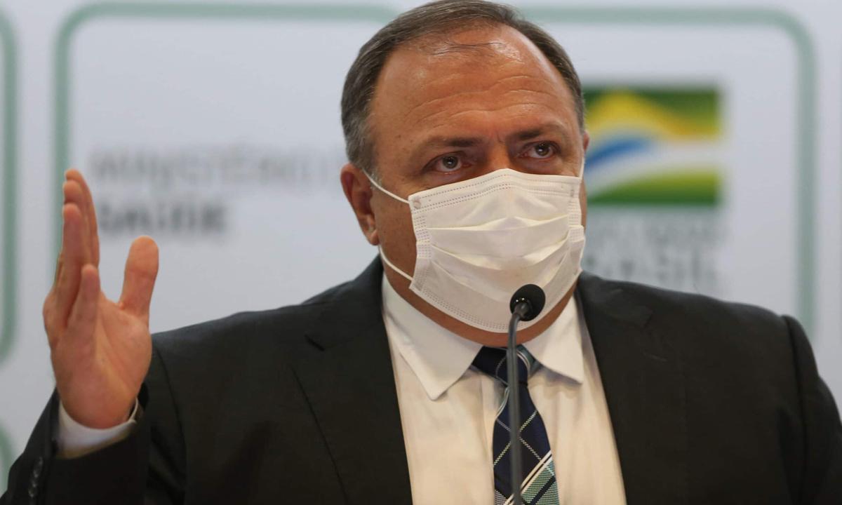 IMAGEM: Pazuello recebeu 7 alertas sobre falta do kit intubação