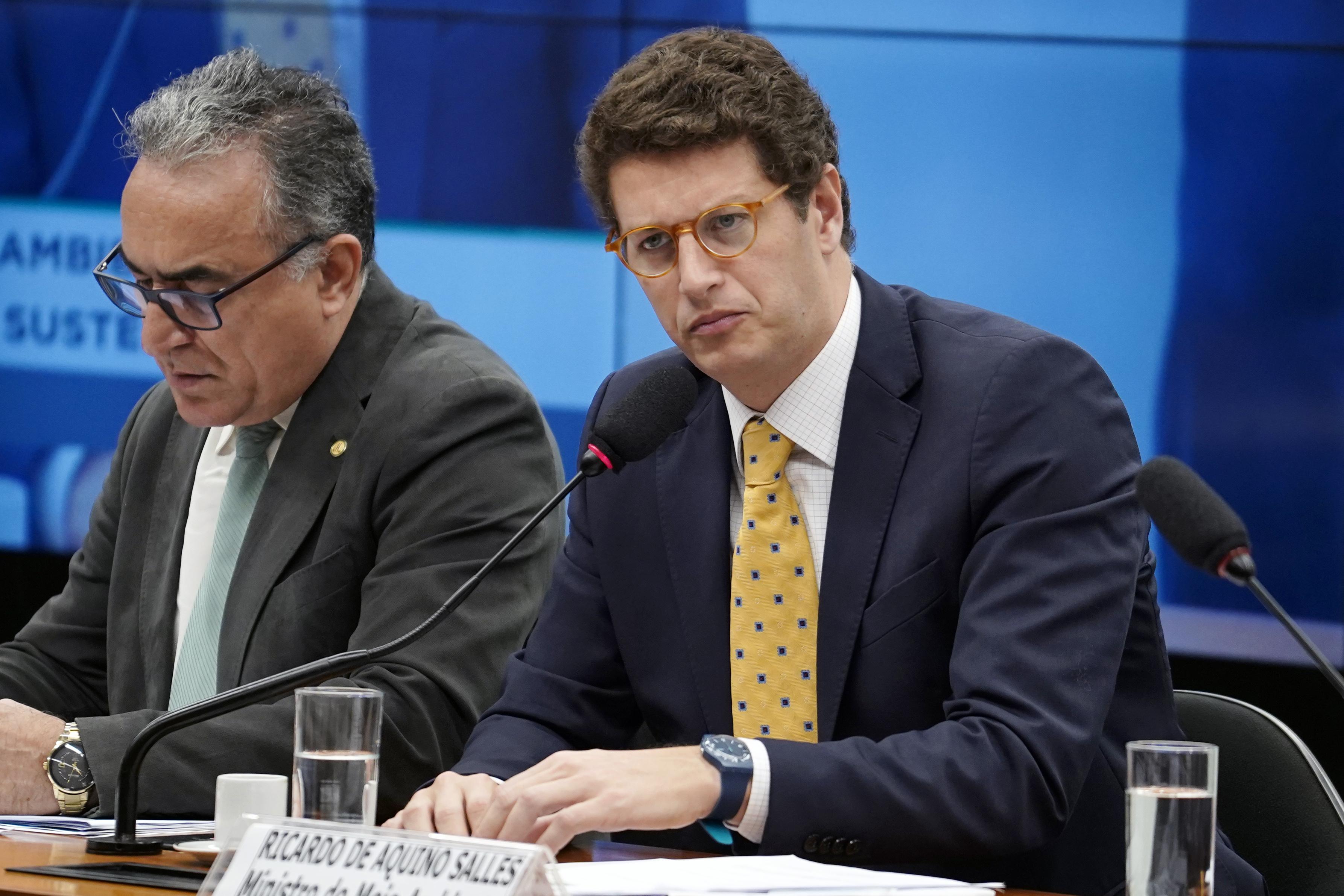 IMAGEM: Ricardo Salles, o 'ministro do Desmatamento'