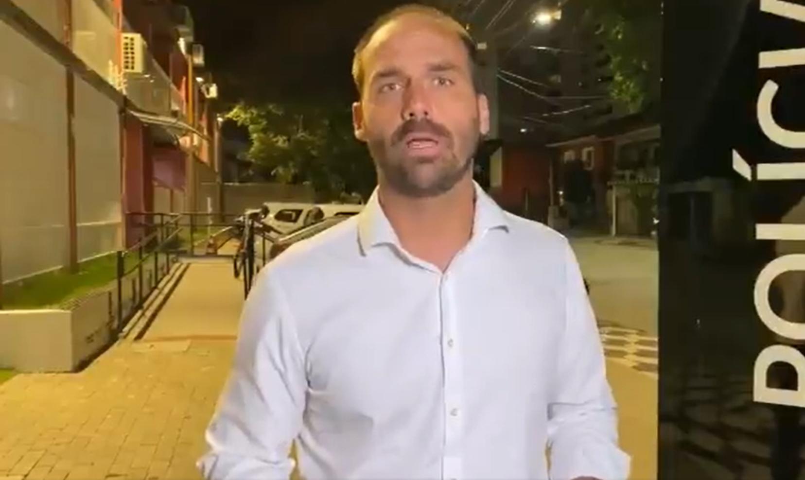 IMAGEM: Eduardo nega que tenha ameaçado matar Bozzella