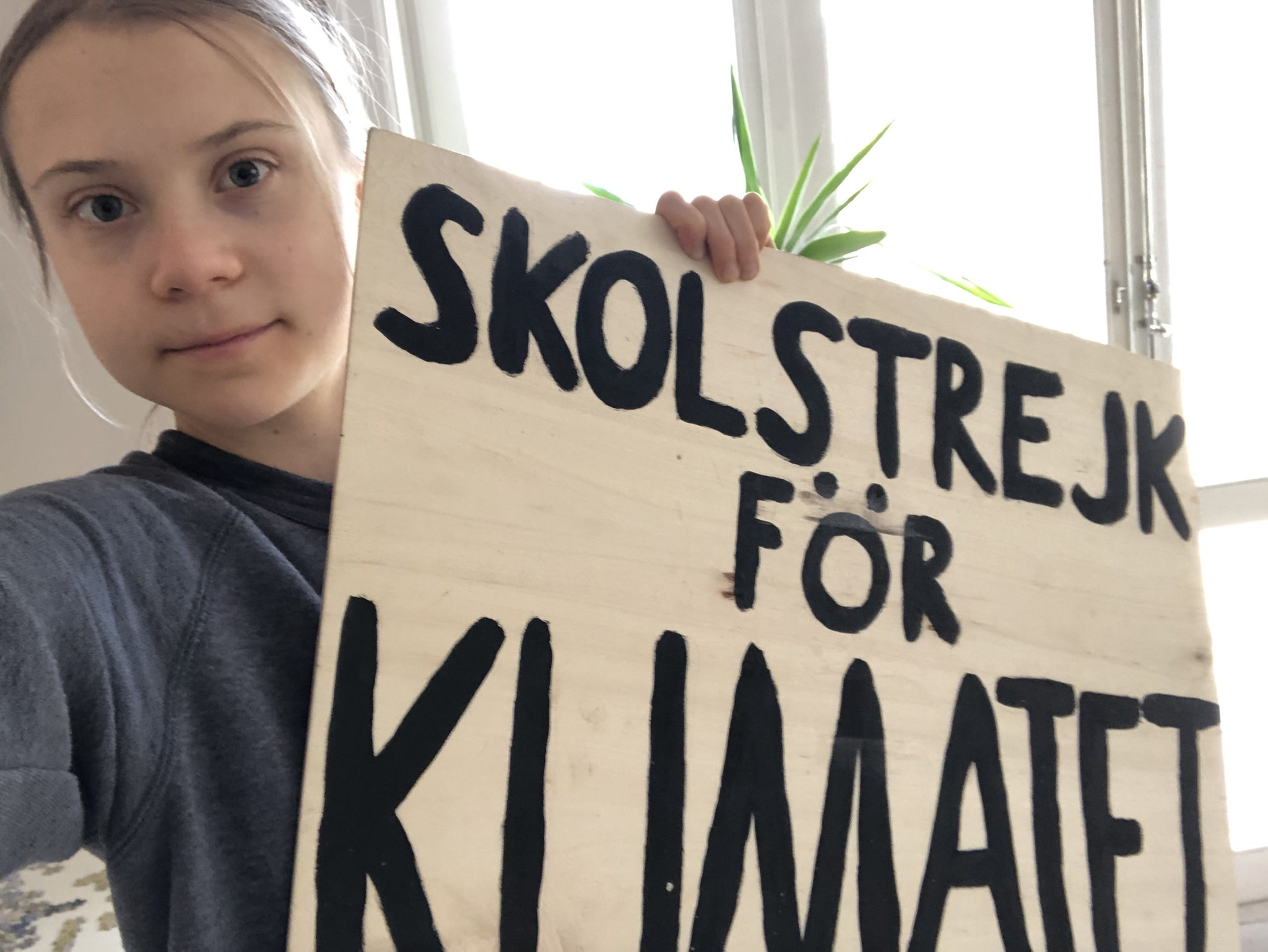 IMAGEM: Após Cúpula, Greta diz que Bolsonaro não leva pauta climática a sério
