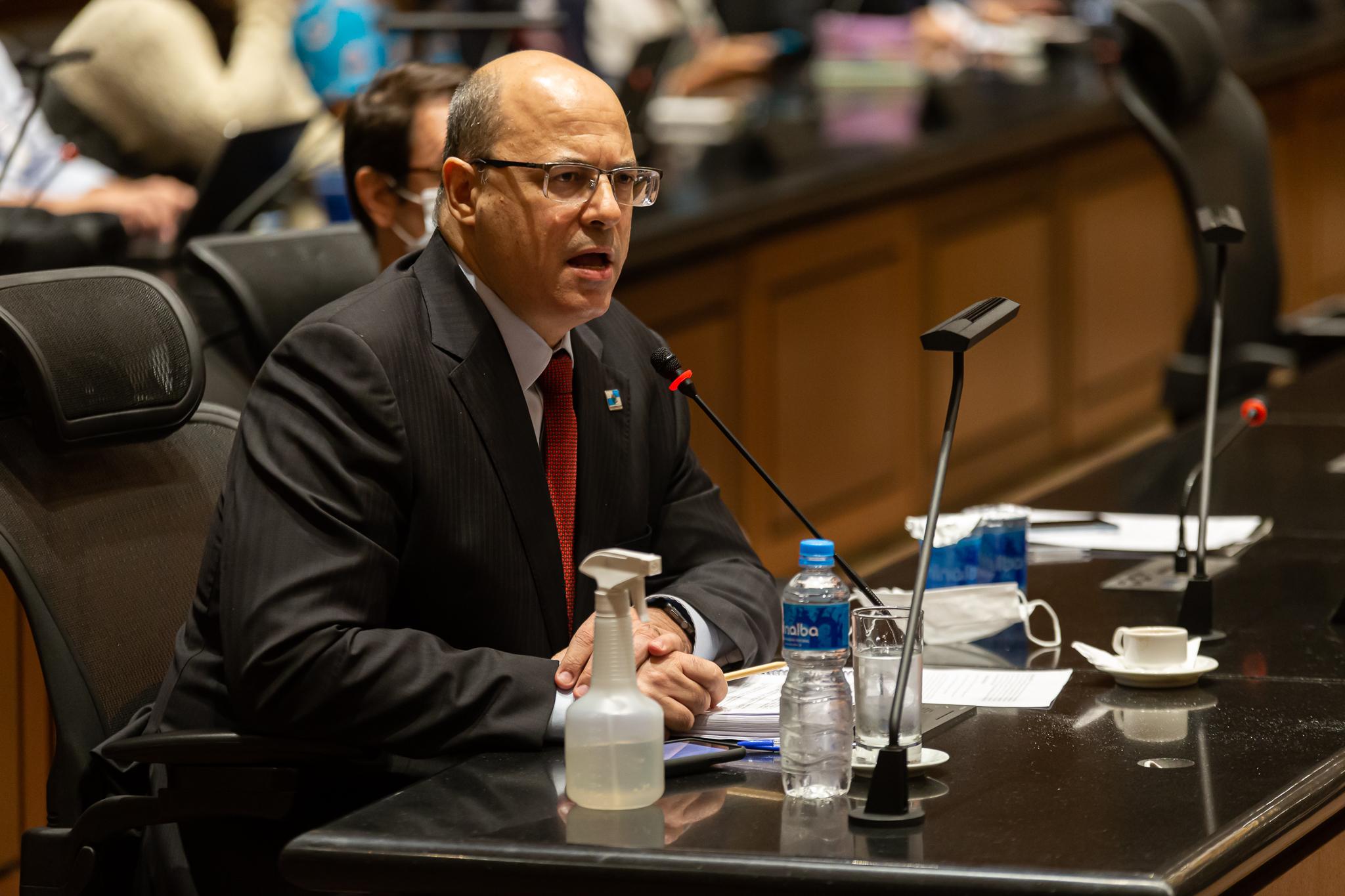 IMAGEM: Alexandre de Moraes mantém condenação de Witzel