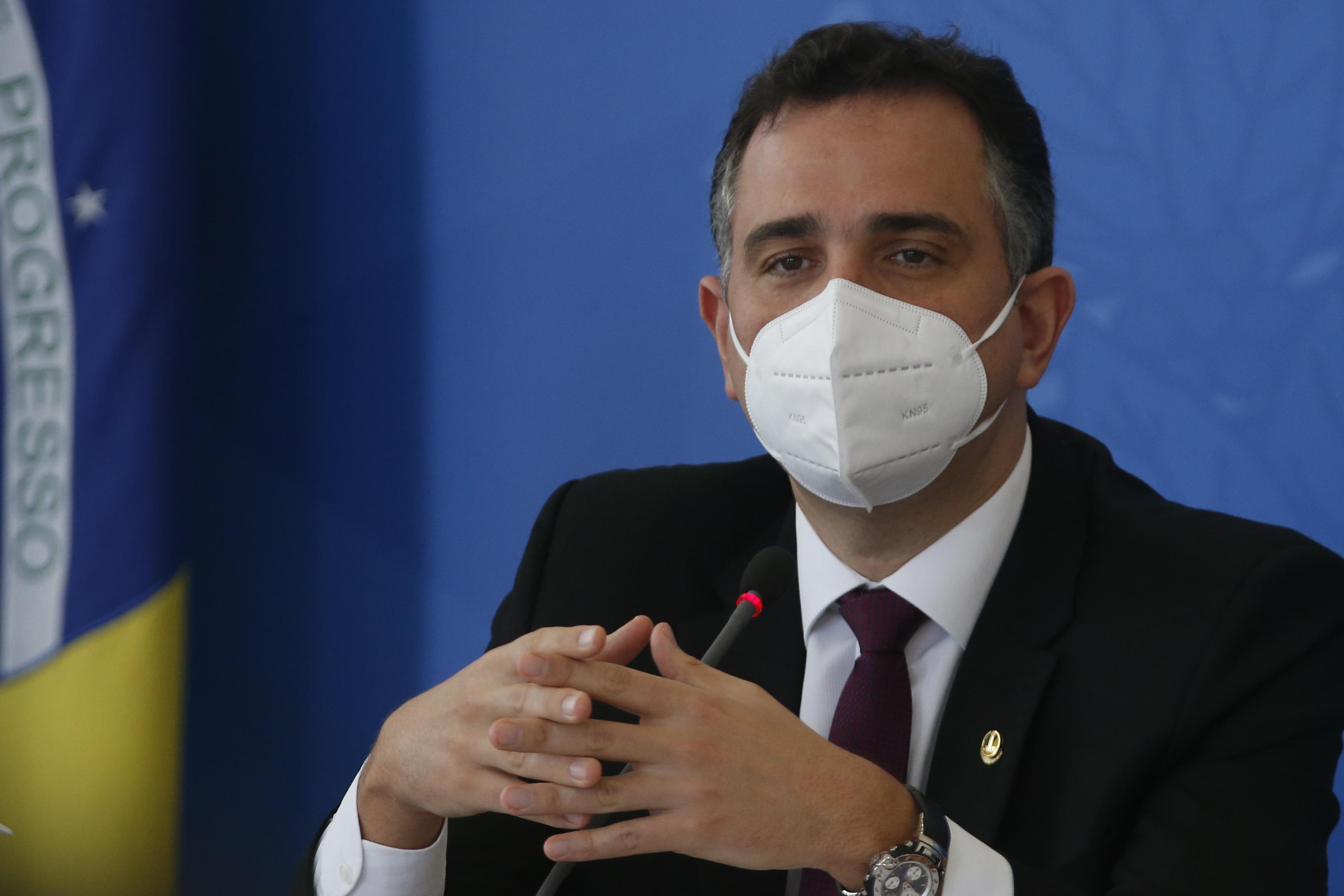 IMAGEM: Cúpula da CPI da Covid pressionou Pacheco a se manifestar contra Bolsonaro