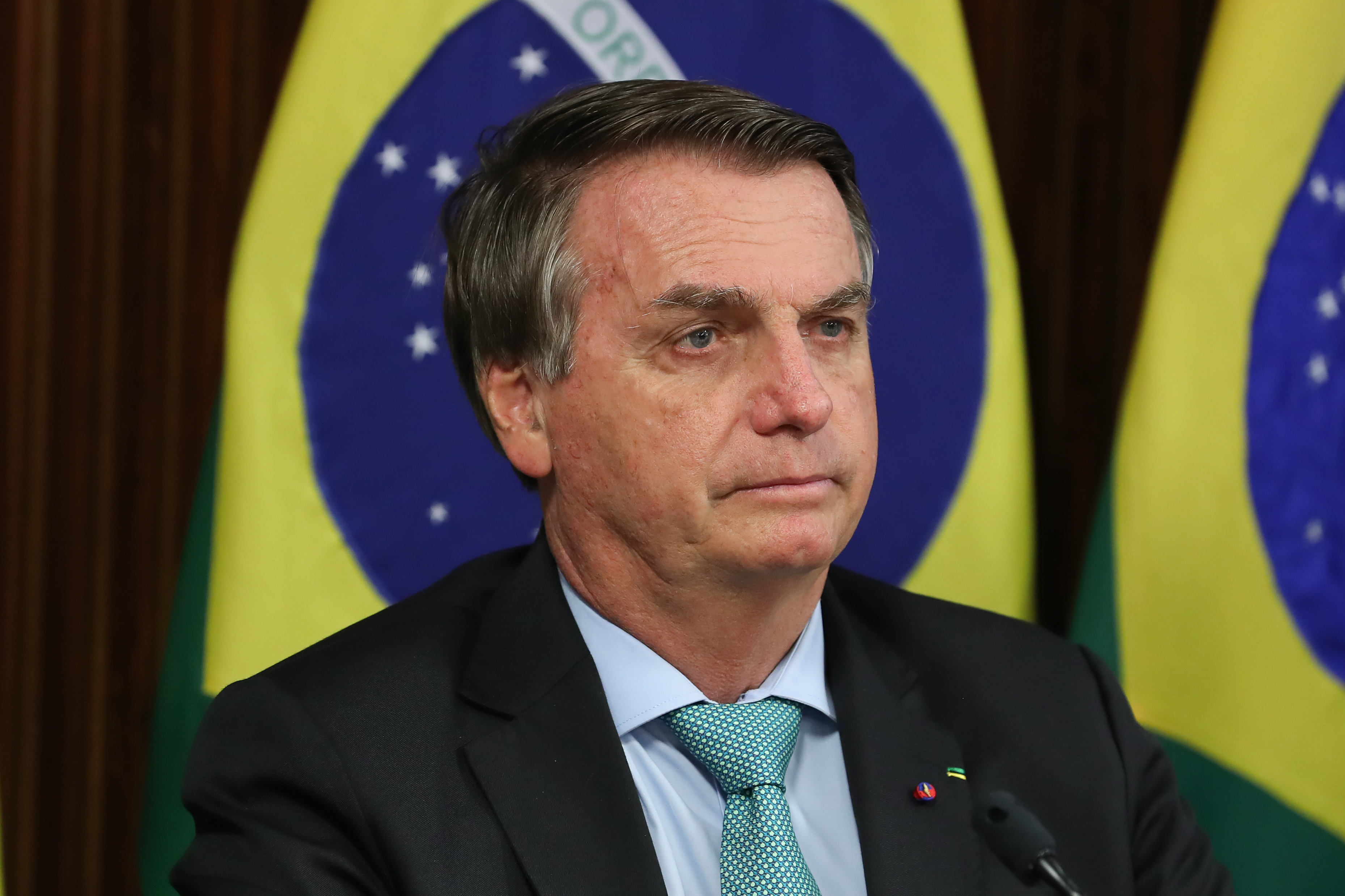 """""""É uma CPI que está ajudando a gente politicamente"""", diz Bolsonaro"""