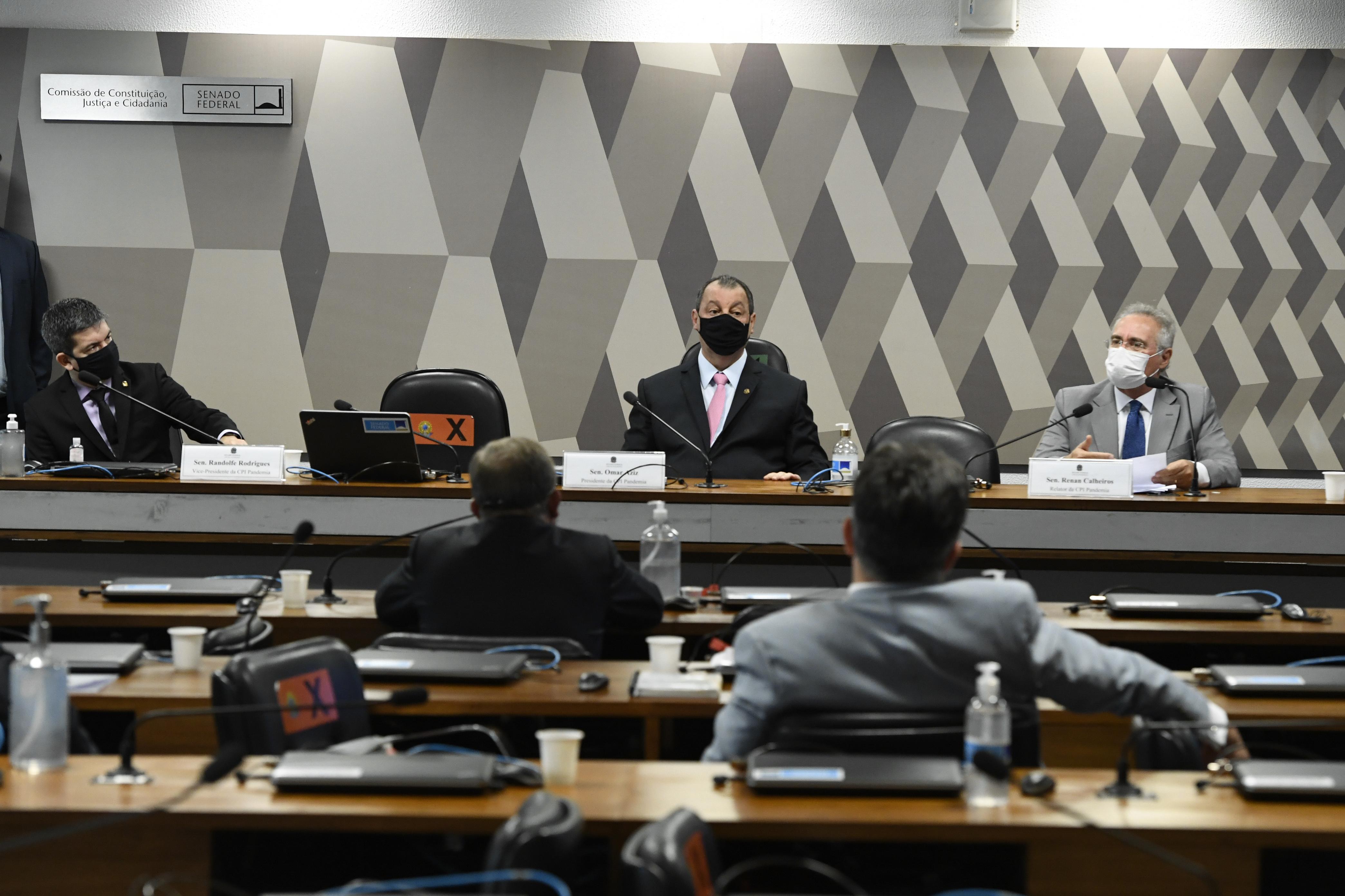 IMAGEM: Com estouro do caso Covaxin, CPI quer prorrogar prazo de funcionamento