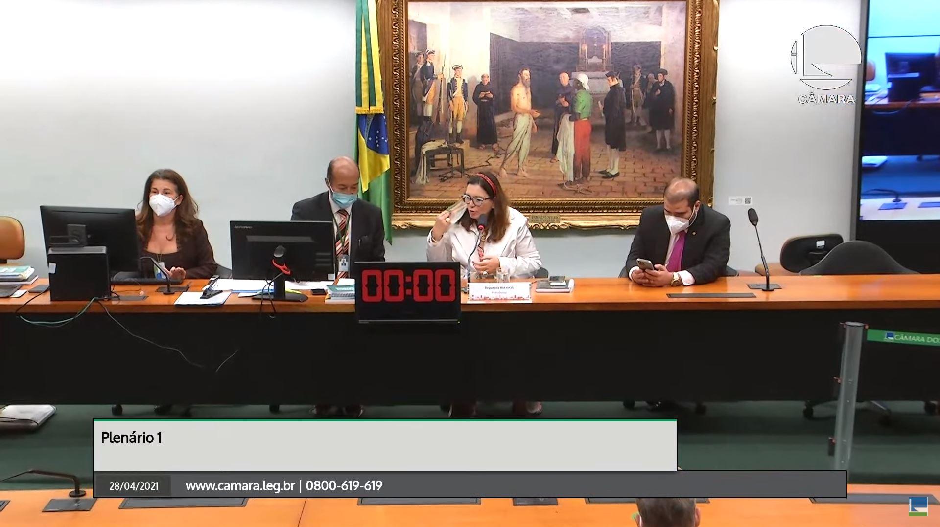 IMAGEM: Bia Kicis nega acordo sobre PEC que muda CNMP e diz que ouvirá sugestões do MP