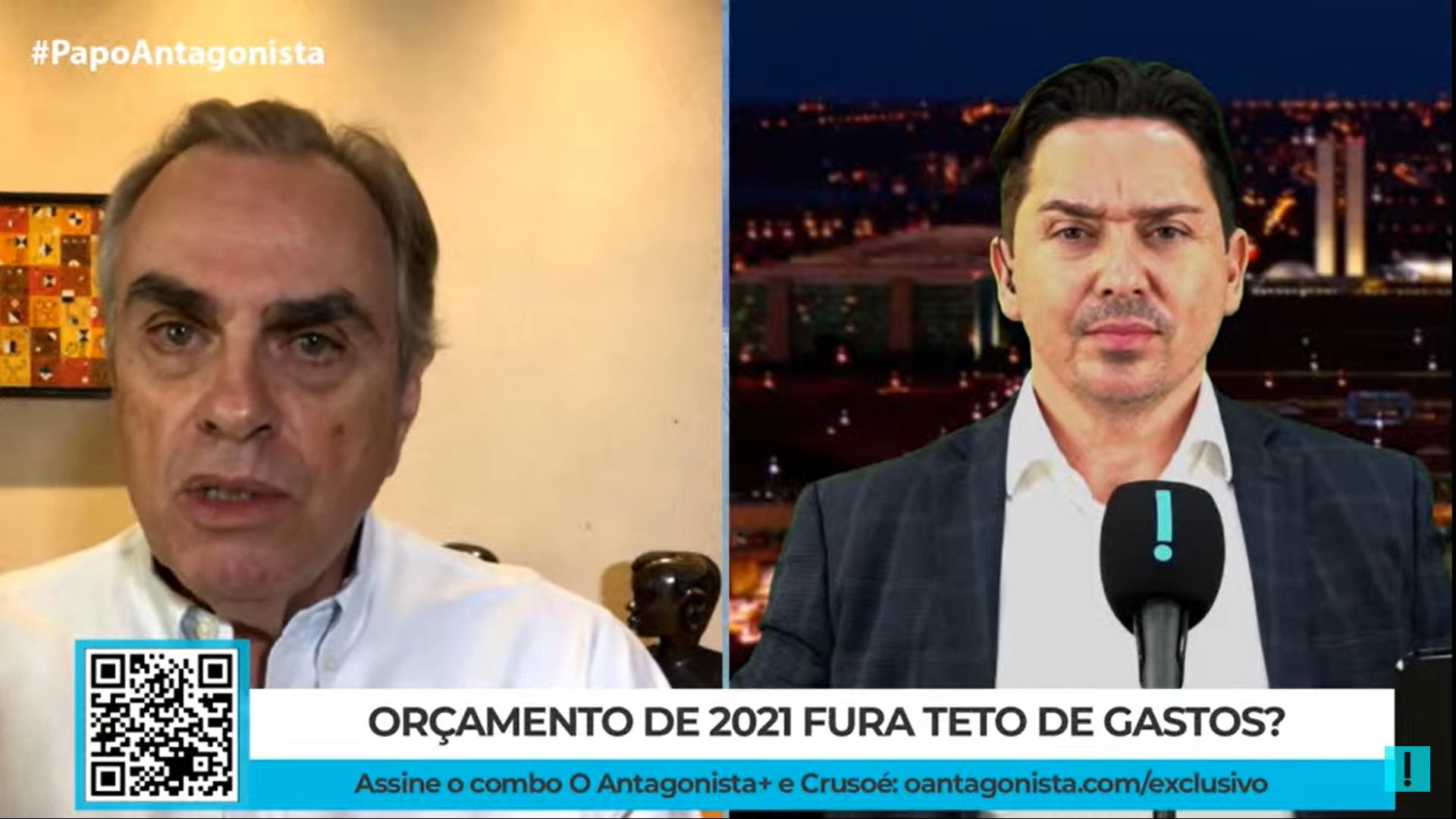 """IMAGEM: """"O presidente sabia de tudo"""", diz Gil Castello Branco sobre falhas no Orçamento 2021"""