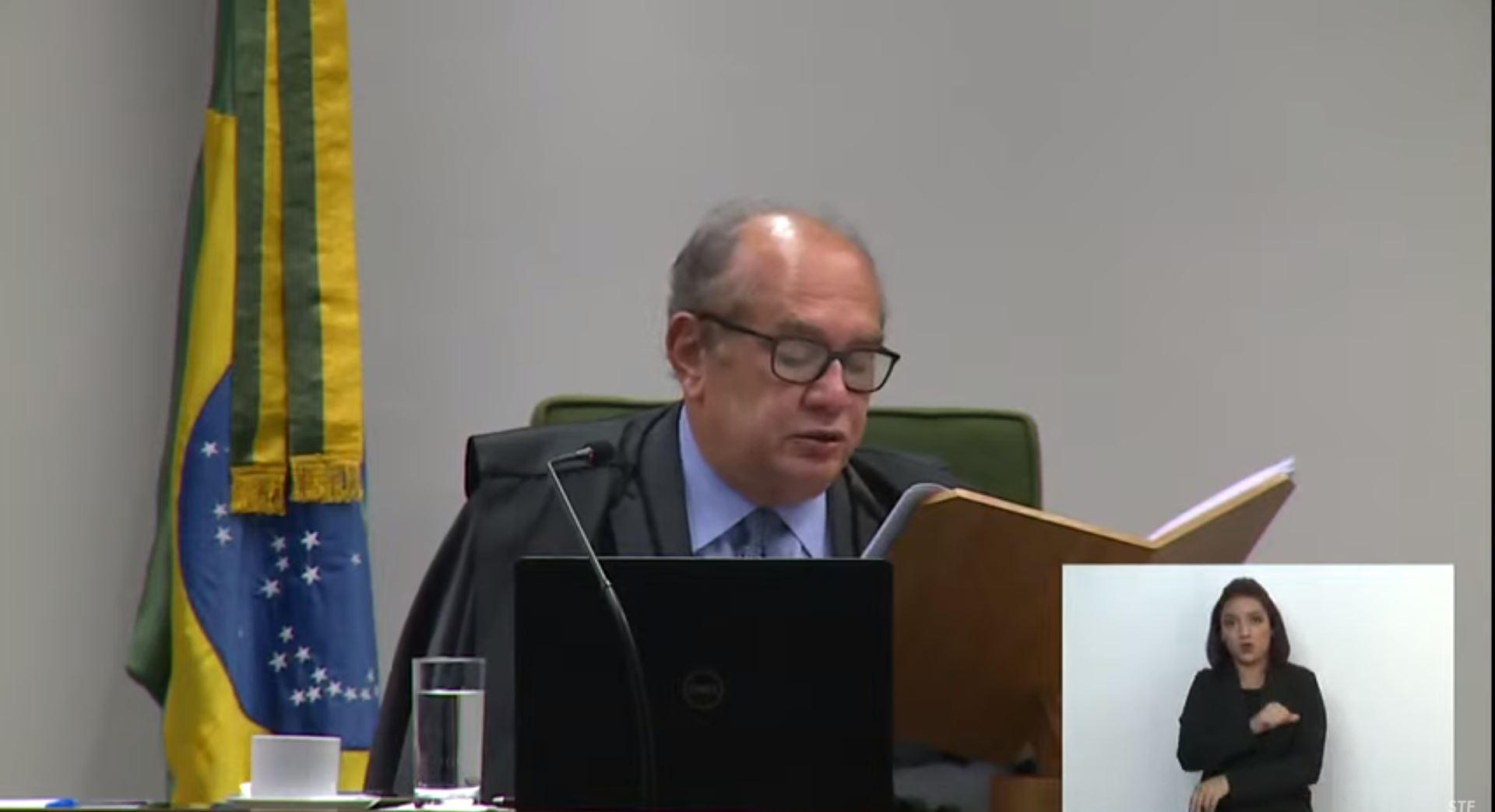 IMAGEM: Gilmar suspende julgamento sobre acesso de autoridades a dados cadastrais sem decisão judicial