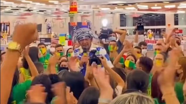 IMAGEM: Ministério Público vai investigar aglomeração com Hang em inauguração de loja