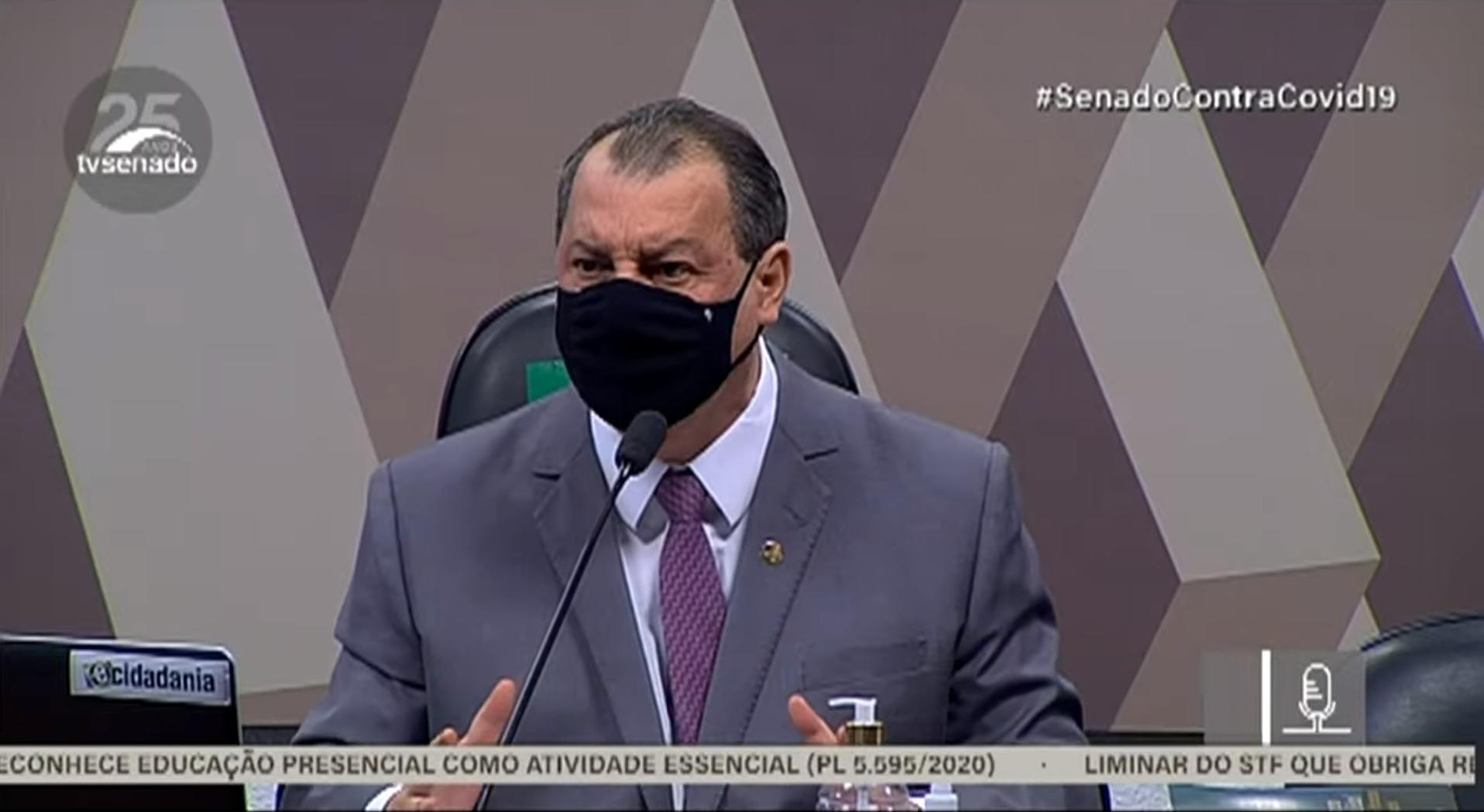 IMAGEM: CPI confirma agenda da próxima semana: ex-ministros e Barra Torres