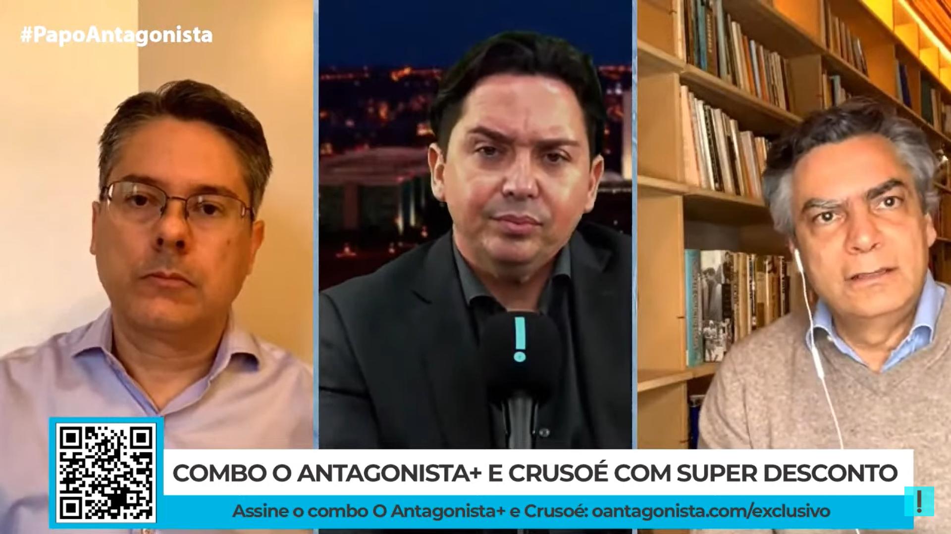 """IMAGEM: """"Com o advogado certo e com o ministro certo, você pode matar a mãe na Praça dos Três Poderes"""", diz Alessandro Vieira"""