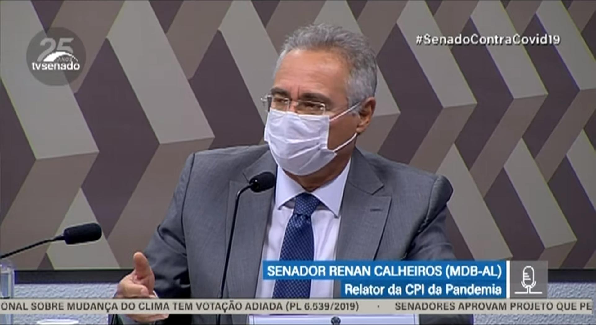 IMAGEM: Renan Calheiros x Ciro Nogueira