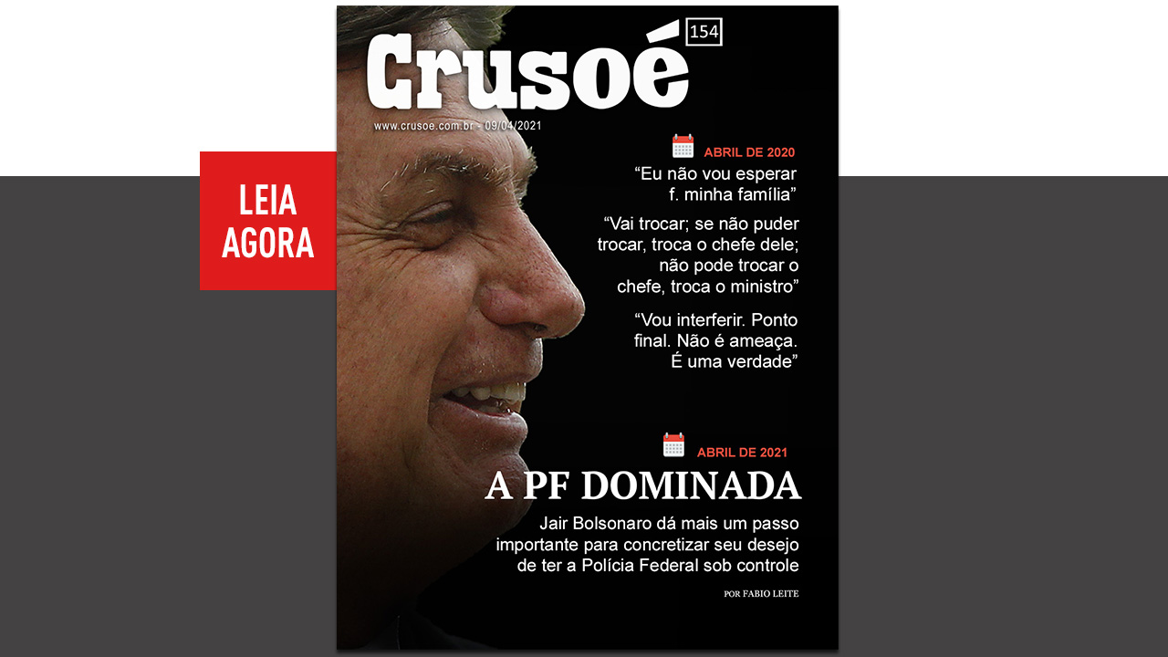 IMAGEM: Bolsonaro domina a PF