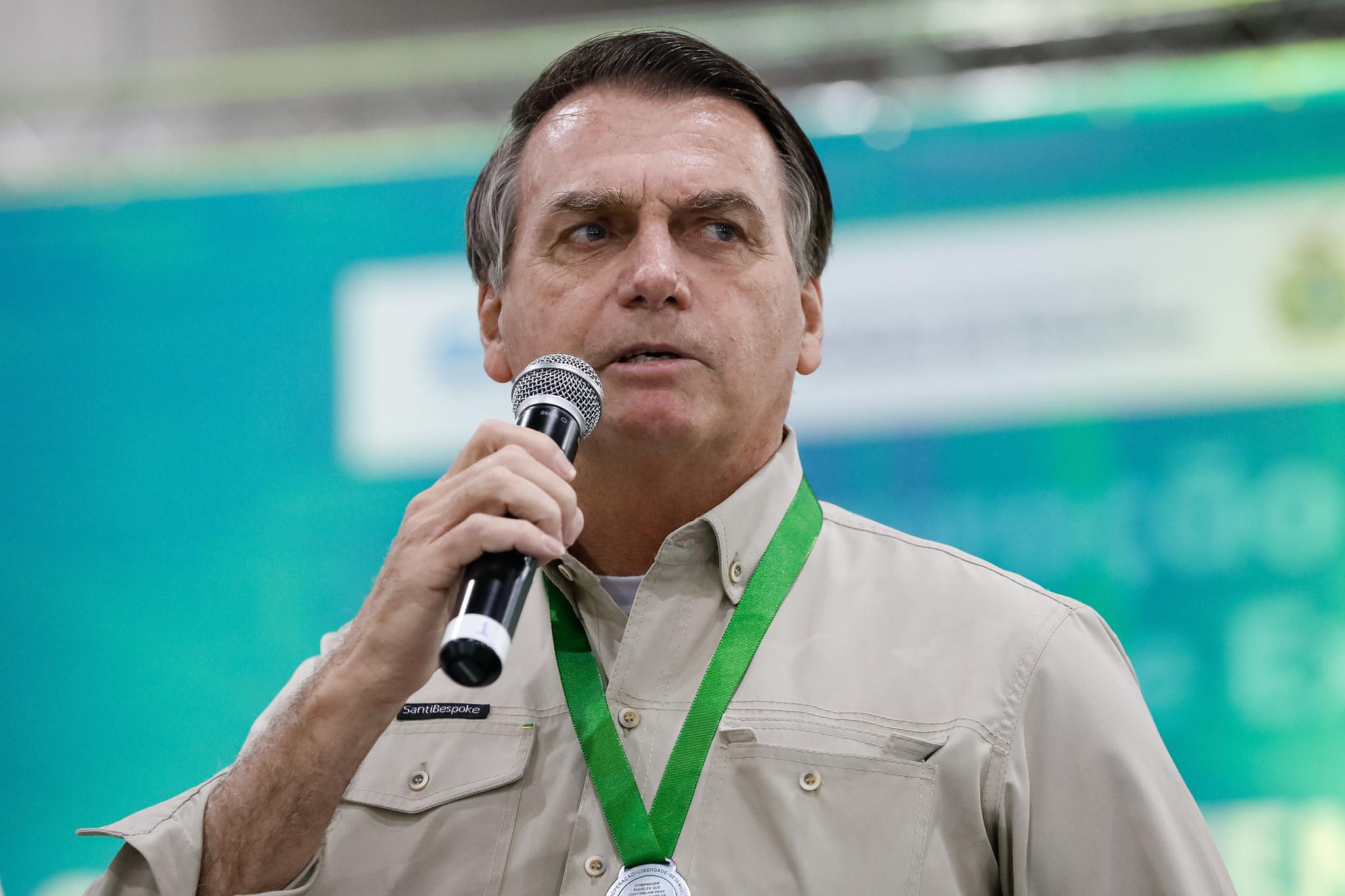 """IMAGEM: Bolsonaro, sobre pandemia: """"Criaram um terror na cabeça do povo"""""""