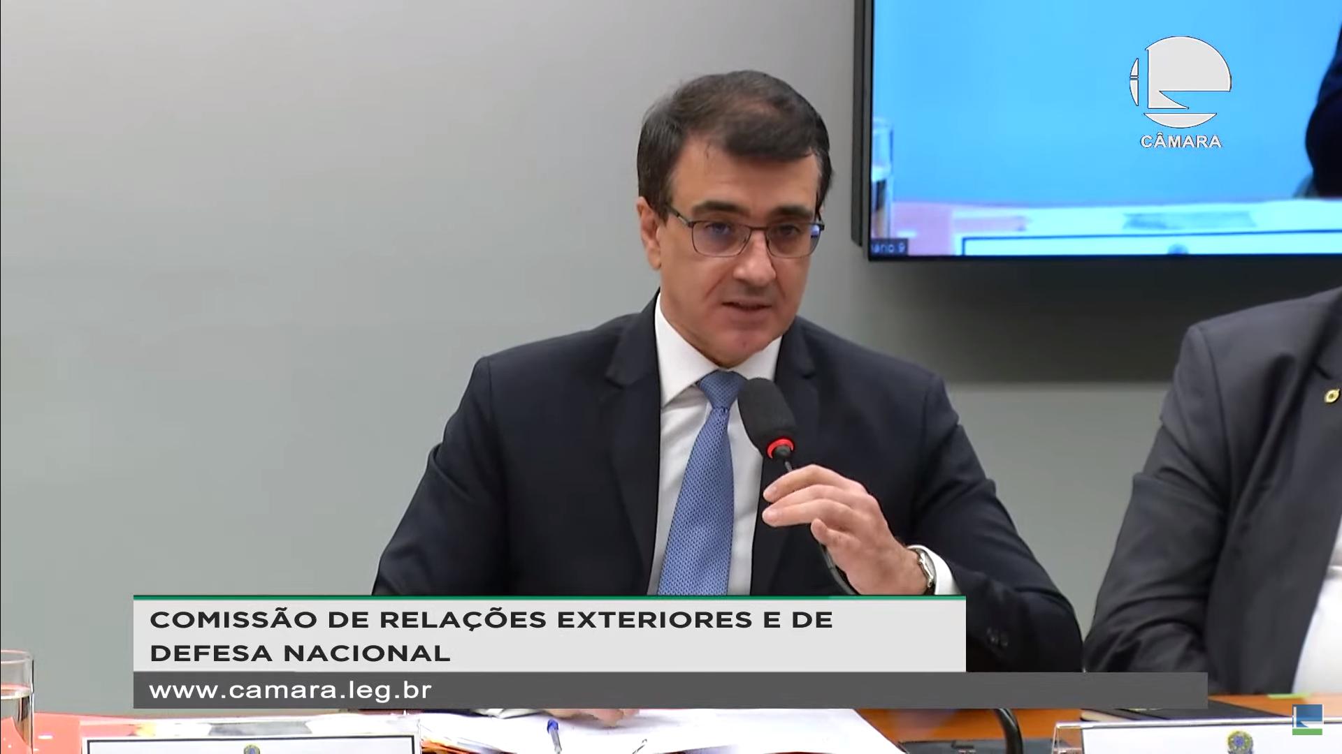IMAGEM: Brasil pode mudar de posição sobre patentes, diz Chanceler