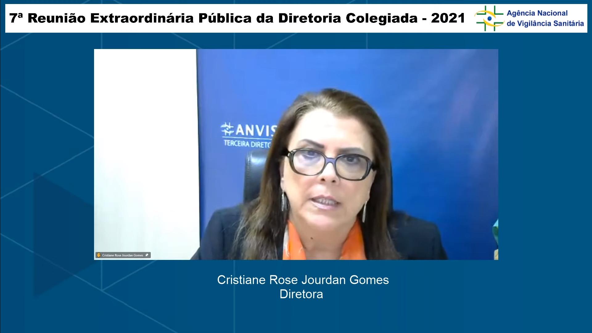 IMAGEM: Diretora da Anvisa pede debate sobre importação da Sputnik V e votação é interrompida