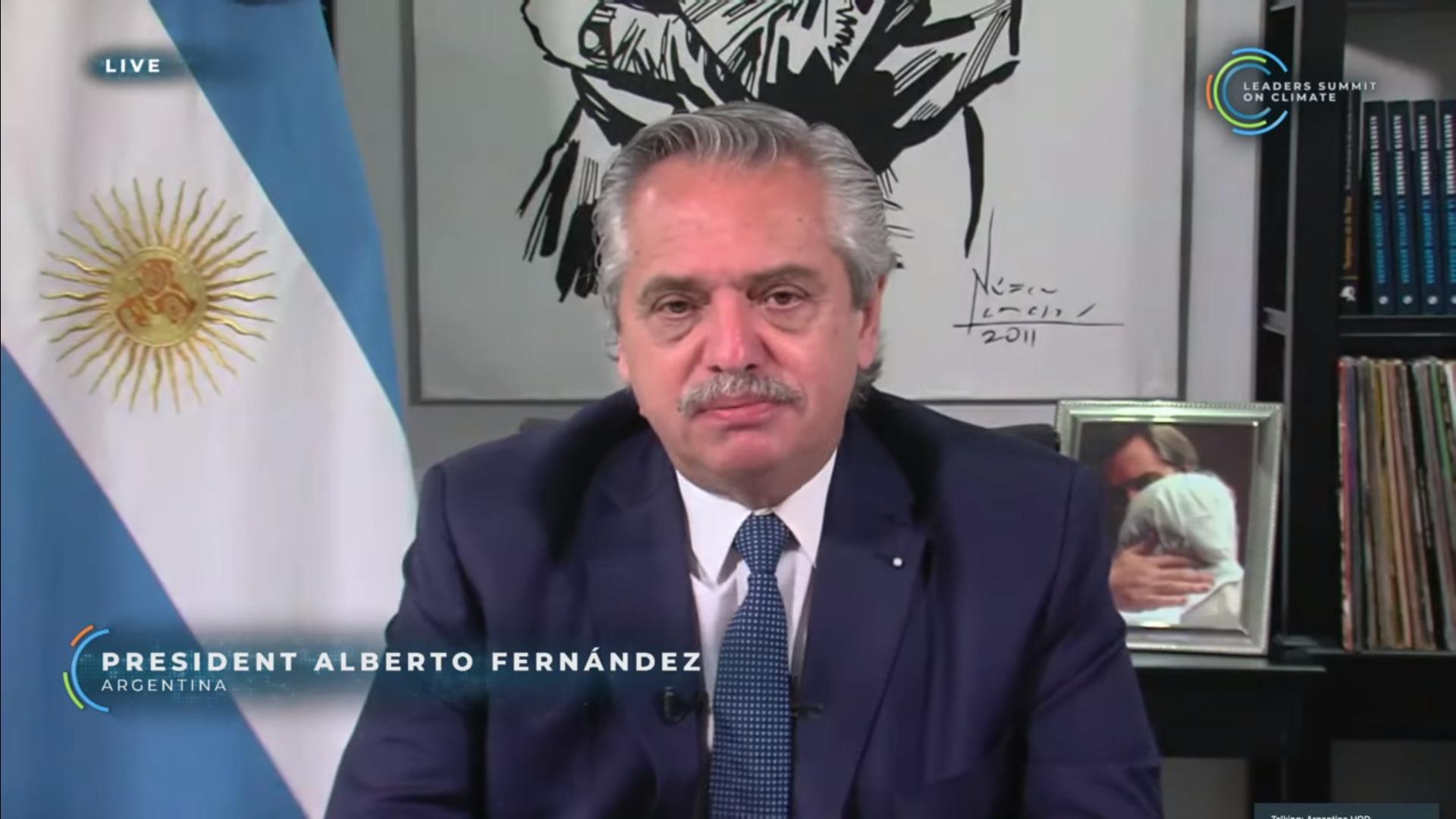 EUA veem Fernández como líder regional para o clima