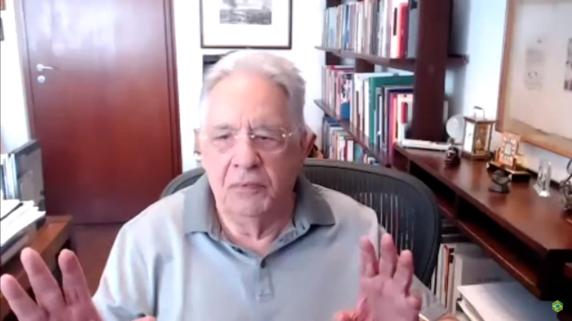 """IMAGEM: """"Entre Lula e Bolsonaro, acredito que Lula seja melhor"""", diz FHC"""